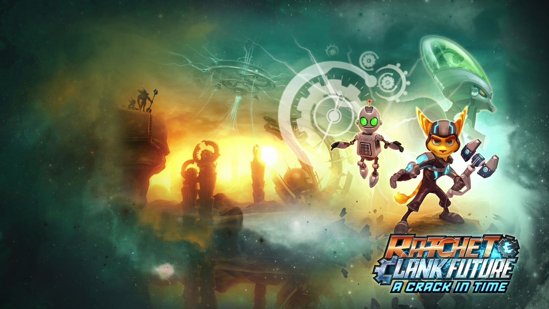 Free Ratchet & Clank Future: A Crack in Time Wallpaper in 1920x1080