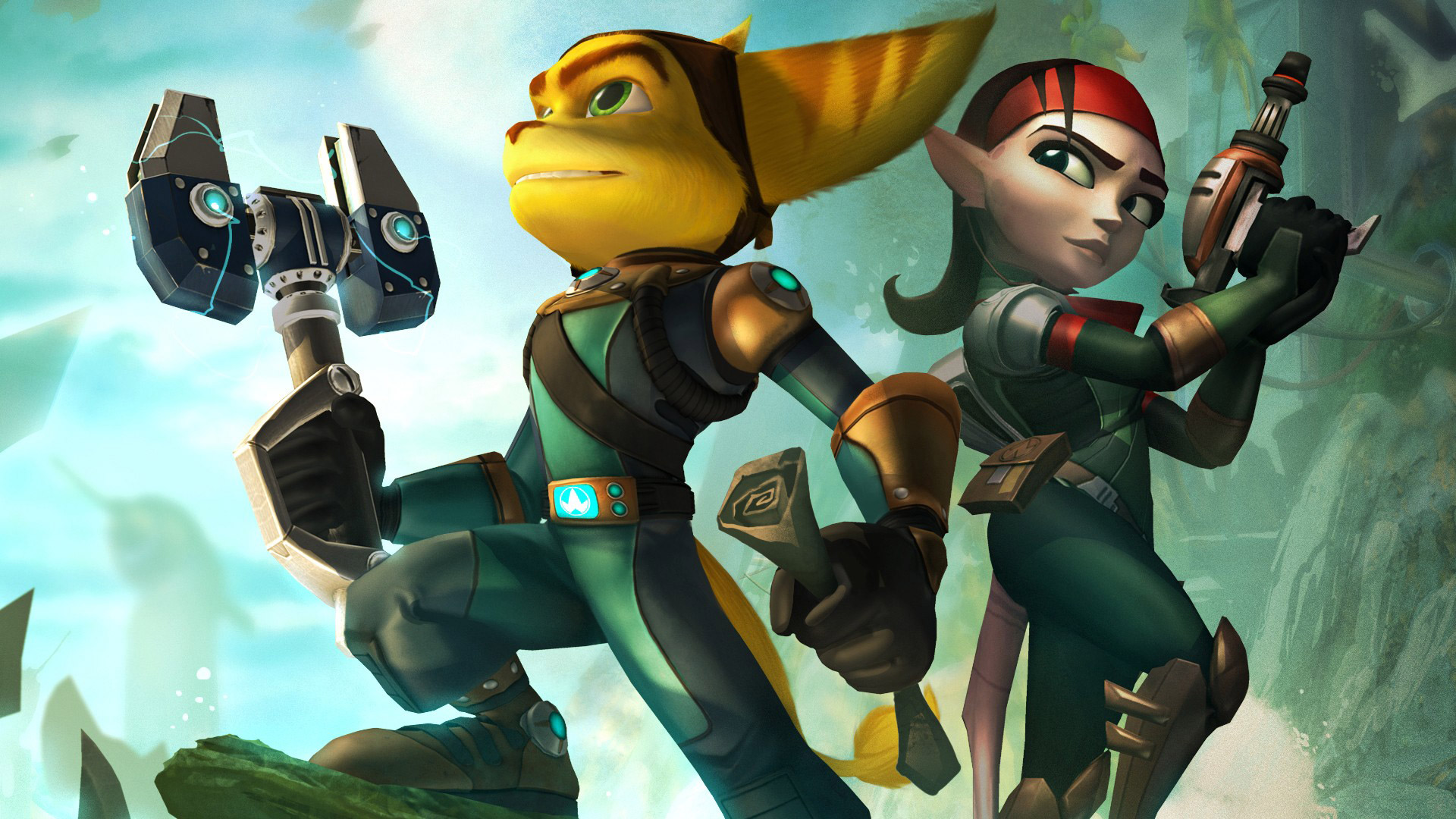 Free Ratchet & Clank Future: Quest for Booty Wallpaper in 1920x1080