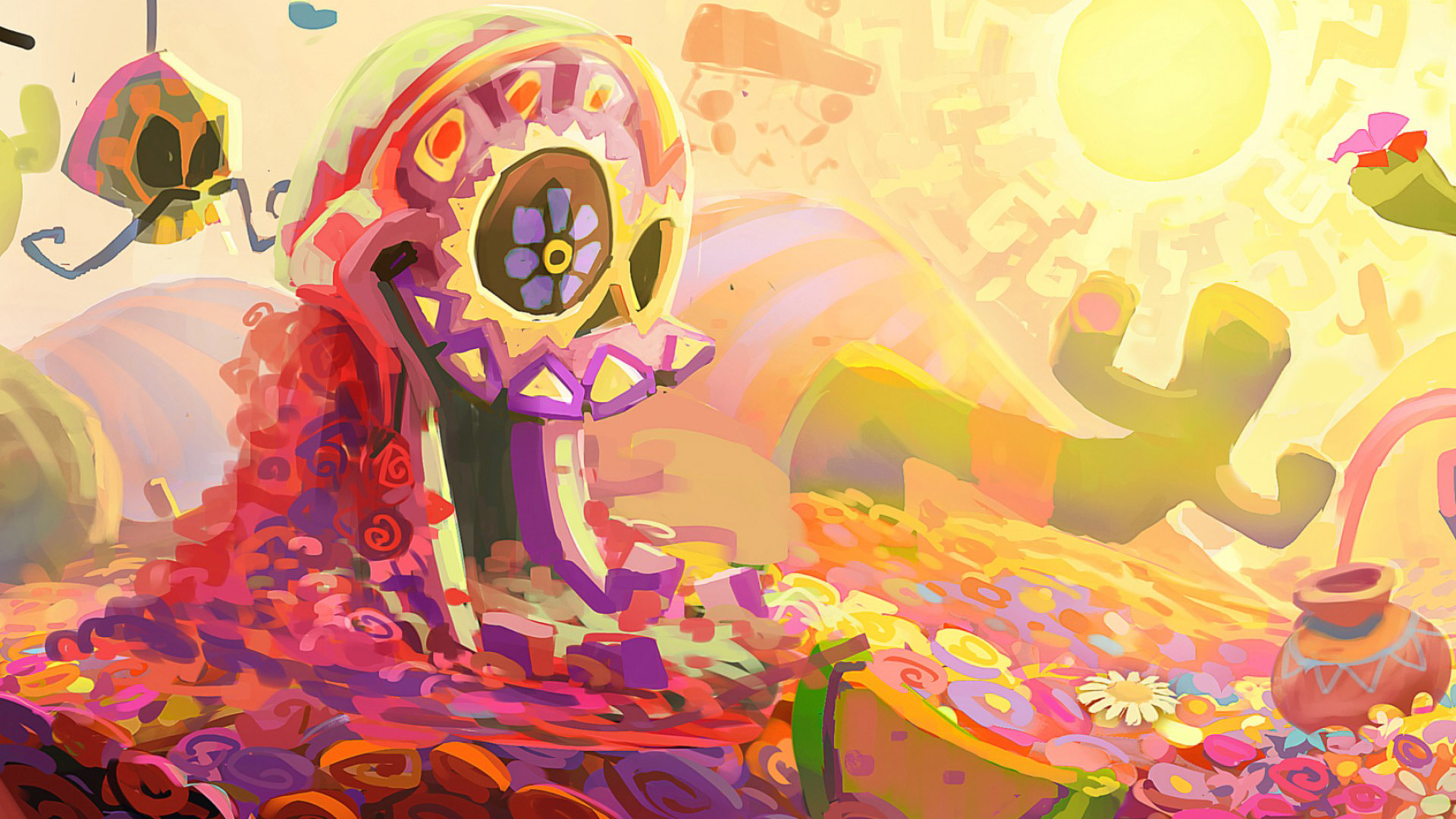 Free Rayman Legends Wallpaper in 1920x1080