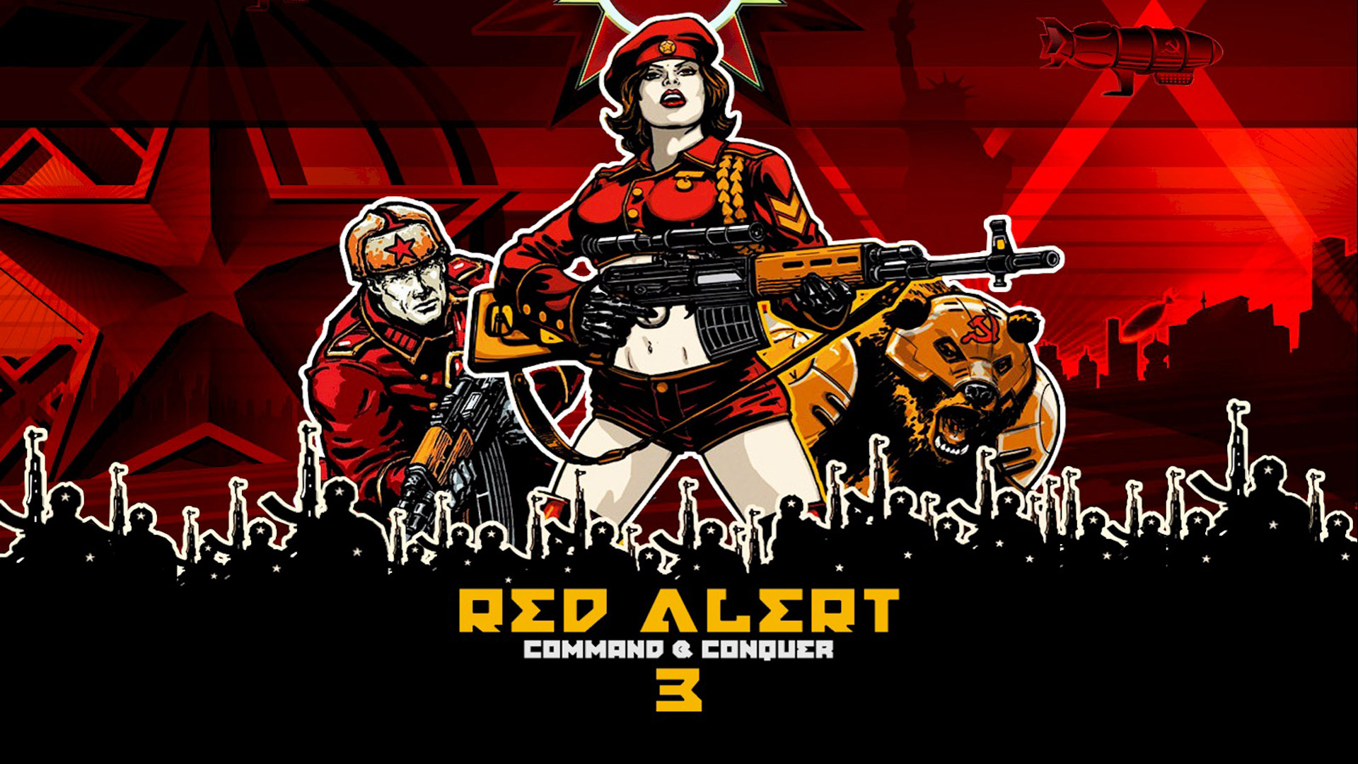 Free Command & Conquer: Red Alert 3 Wallpaper in 1920x1080