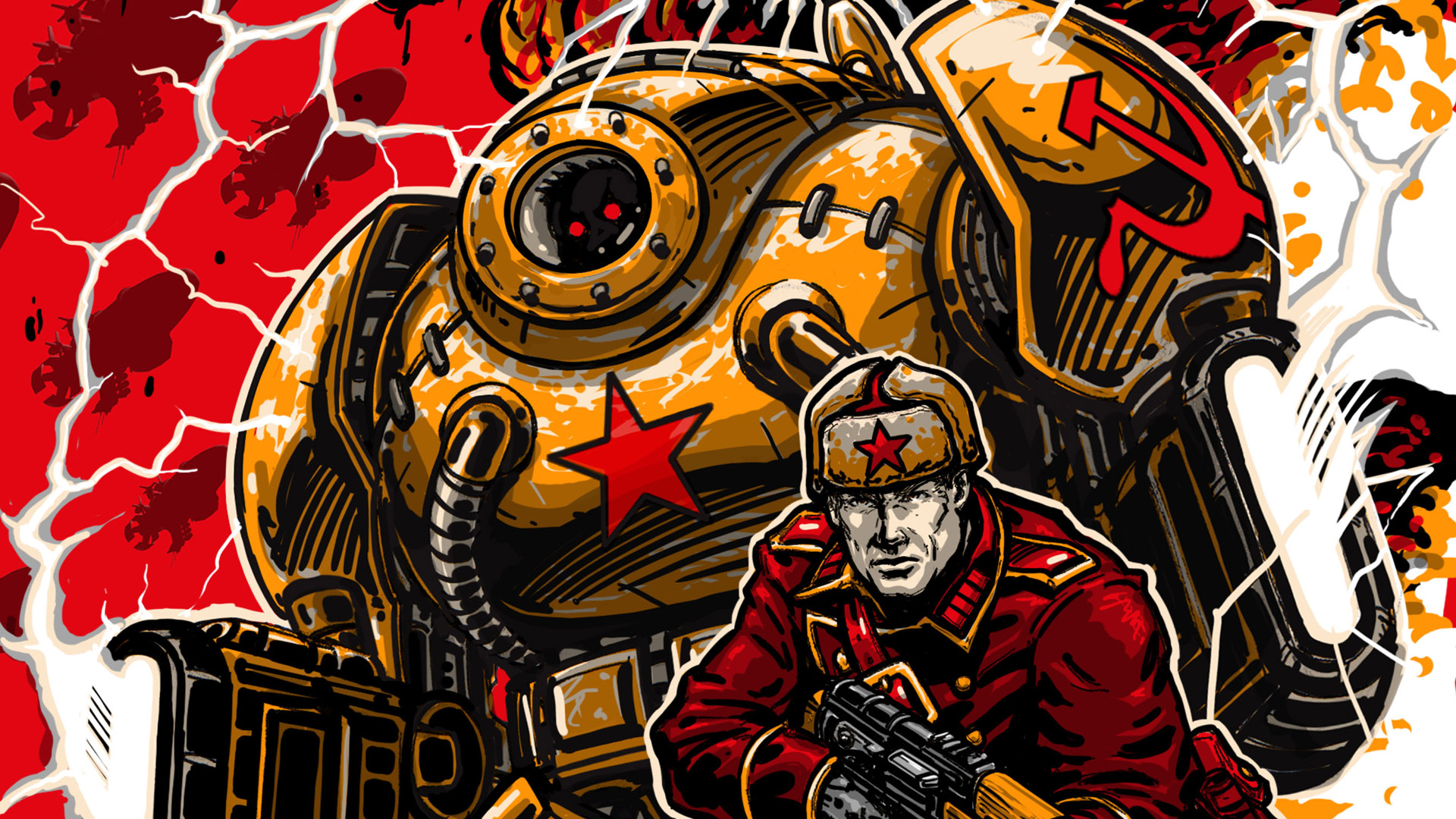 Command & Conquer: Red Alert 3 Wallpaper in 1920x1080