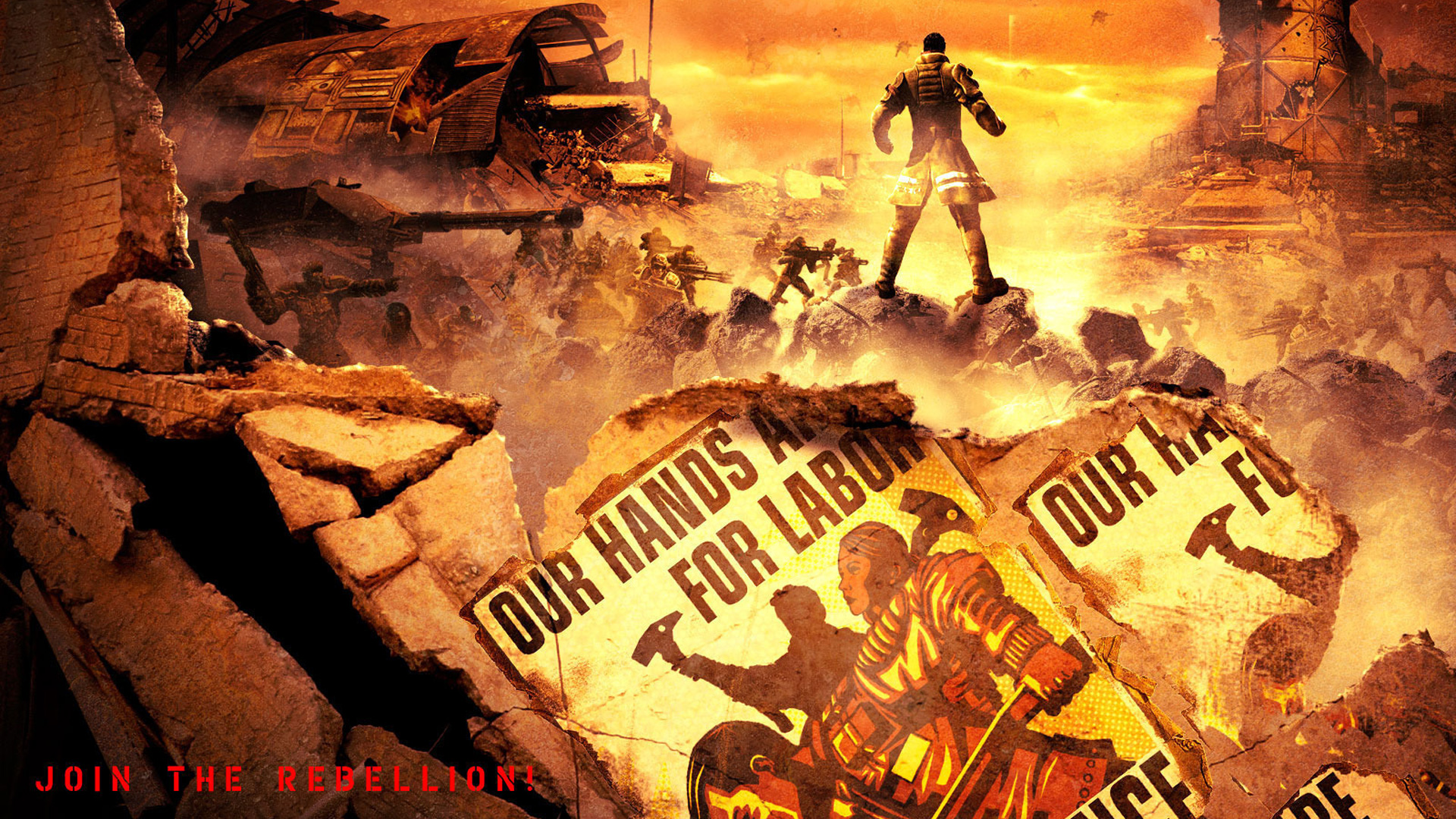 Free Red Faction: Guerrilla Wallpaper in 1920x1080