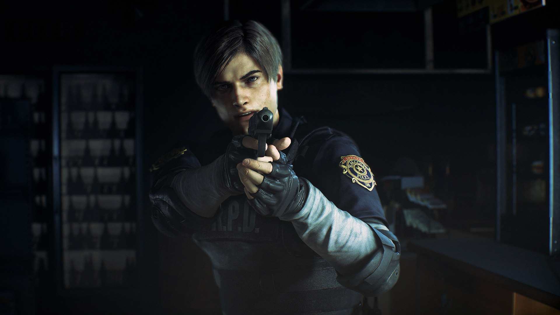 Free Resident Evil 2 Wallpaper in 1920x1080