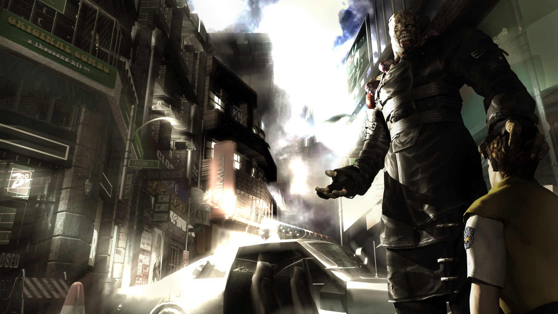 Free Resident Evil 3: Nemesis Wallpaper in 1920x1080