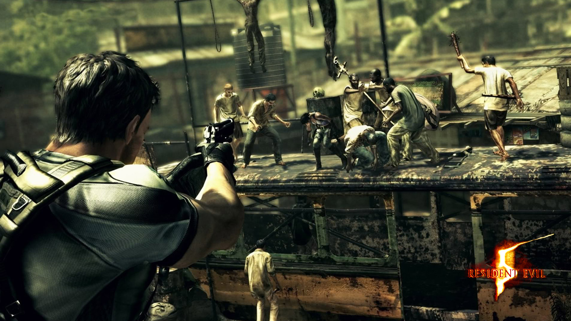 Free Resident Evil 5 Wallpaper in 1920x1080