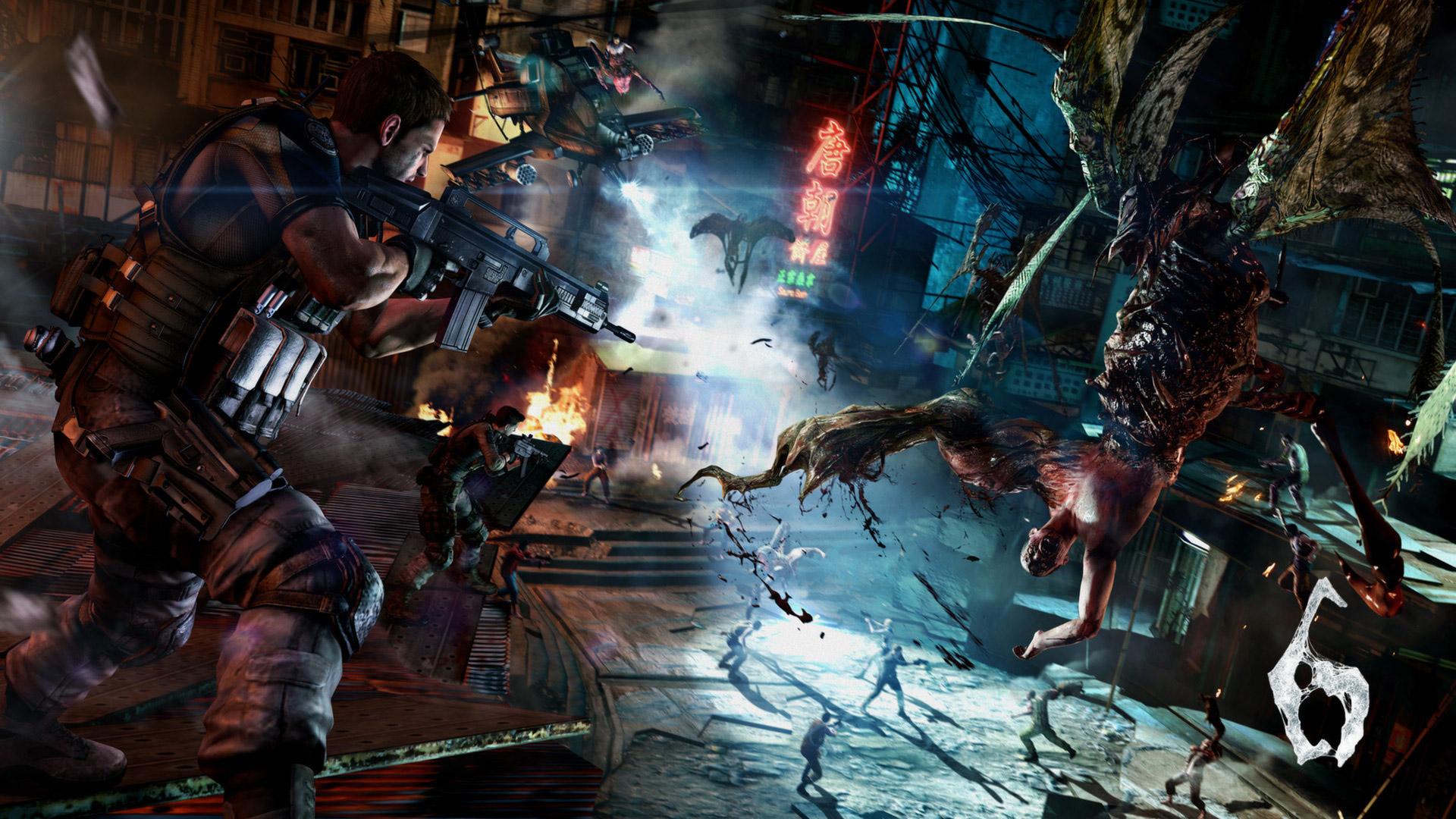 Resident Evil 6 Wallpaper in 1920x1080