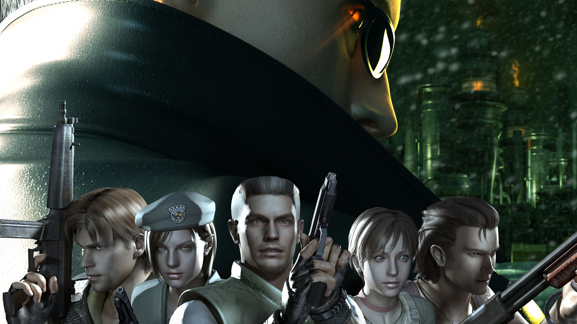 Free Resident Evil: The Umbrella Chronicles Wallpaper in 1920x1080