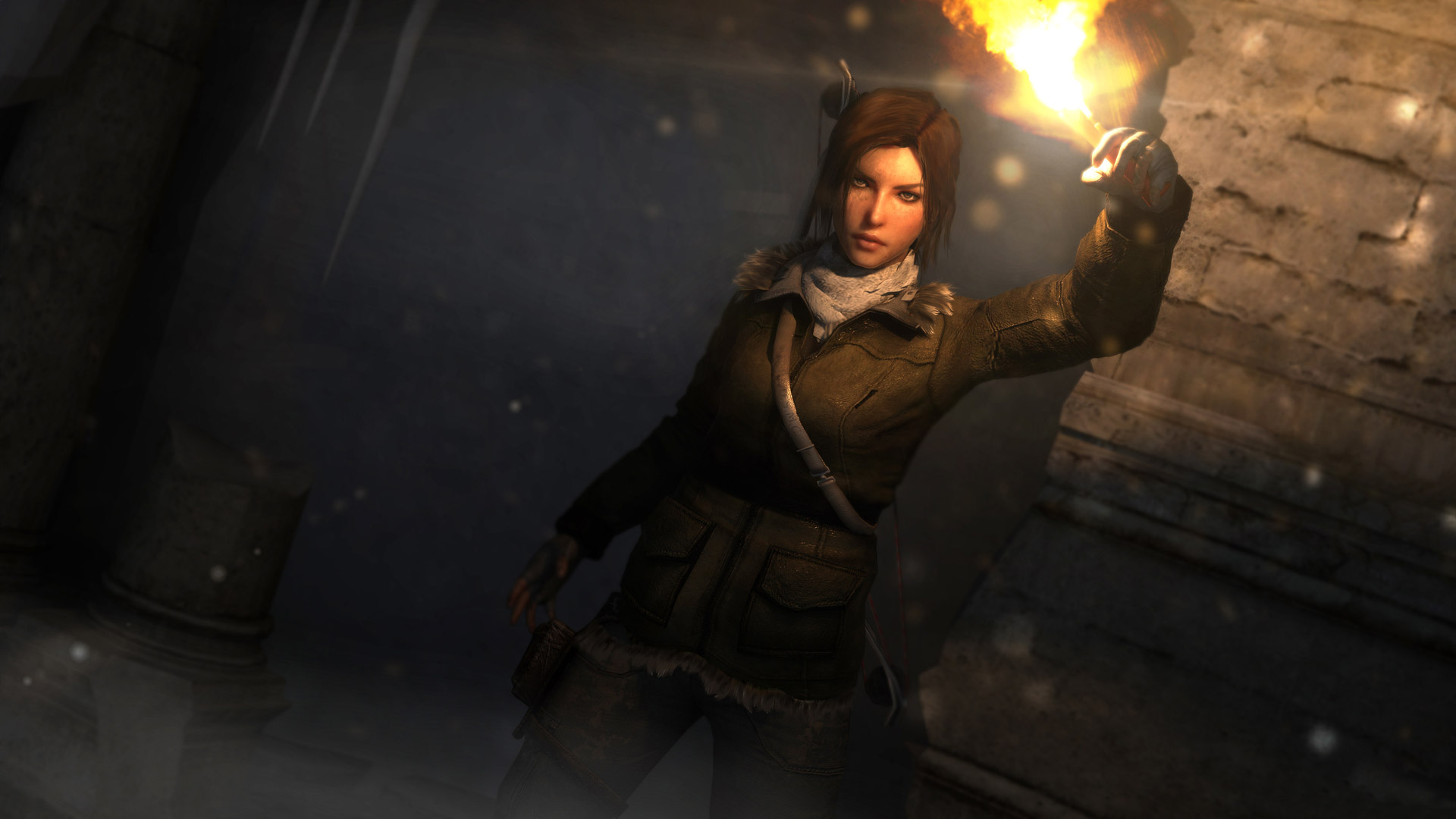 Free Rise of the Tomb Raider Wallpaper in 1920x1080