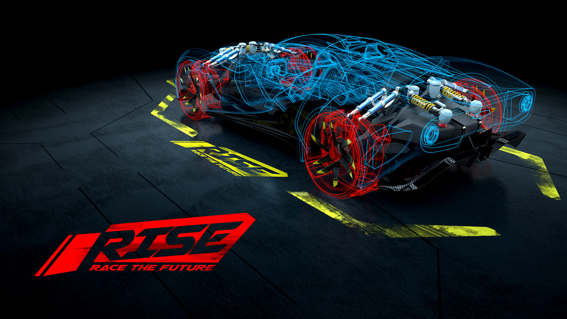 Free RISE: Race The Future Wallpaper in 1920x1080