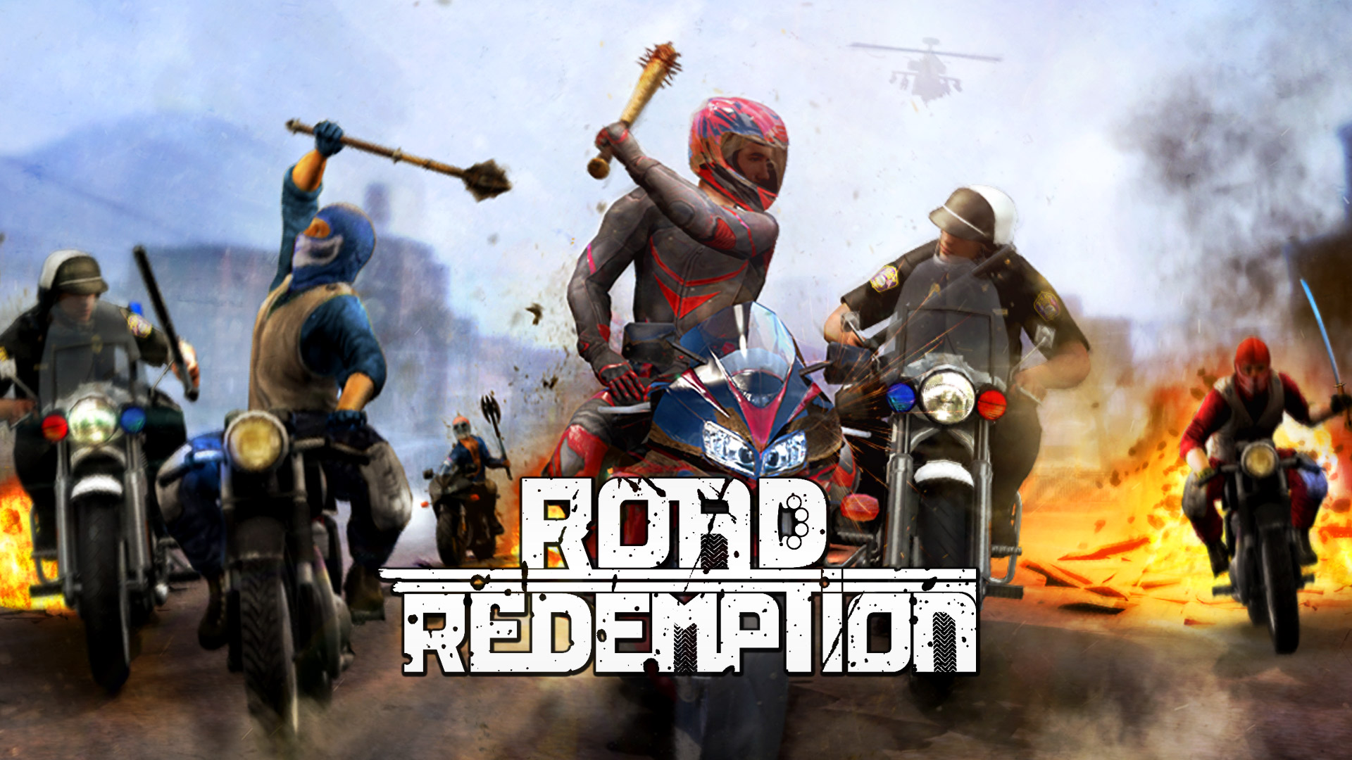 Free Road Redemption Wallpaper in 1920x1080