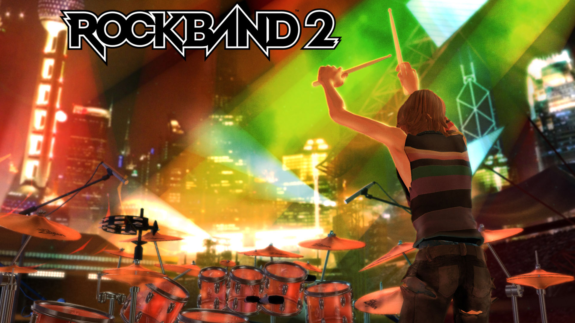 Rock Band 2 Wallpaper in 1920x1080