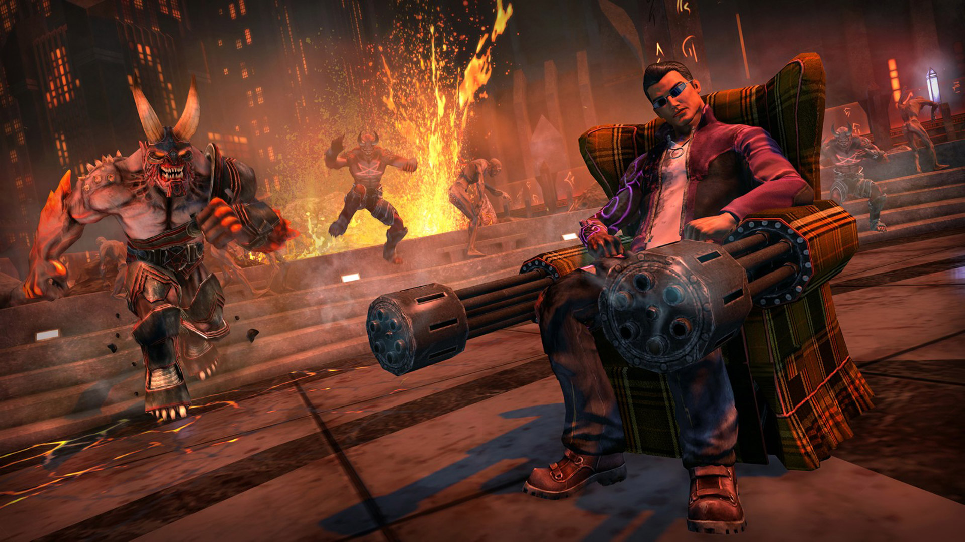 Free Saints Row: Gat Out of Hell Wallpaper in 1920x1080