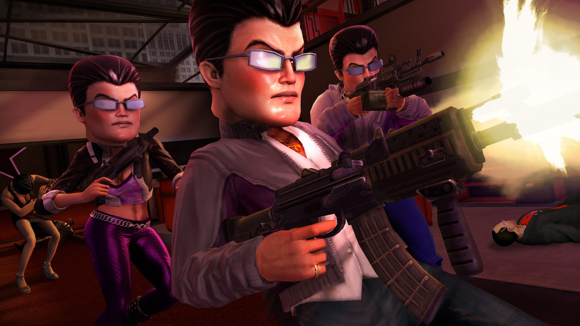 Free Saints Row: The Third Wallpaper in 1920x1080