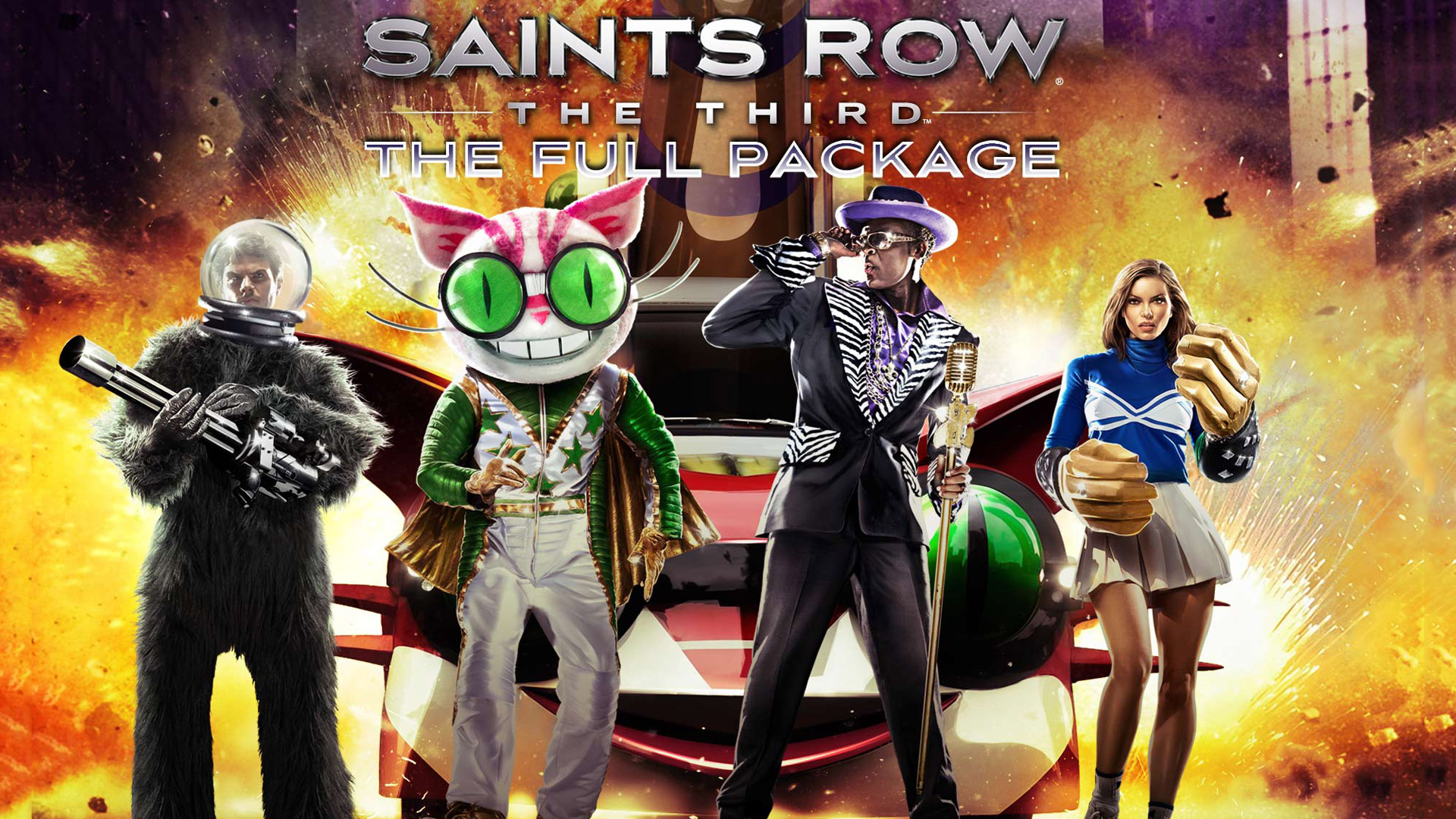 Saints Row: The Third Wallpaper in 1920x1080
