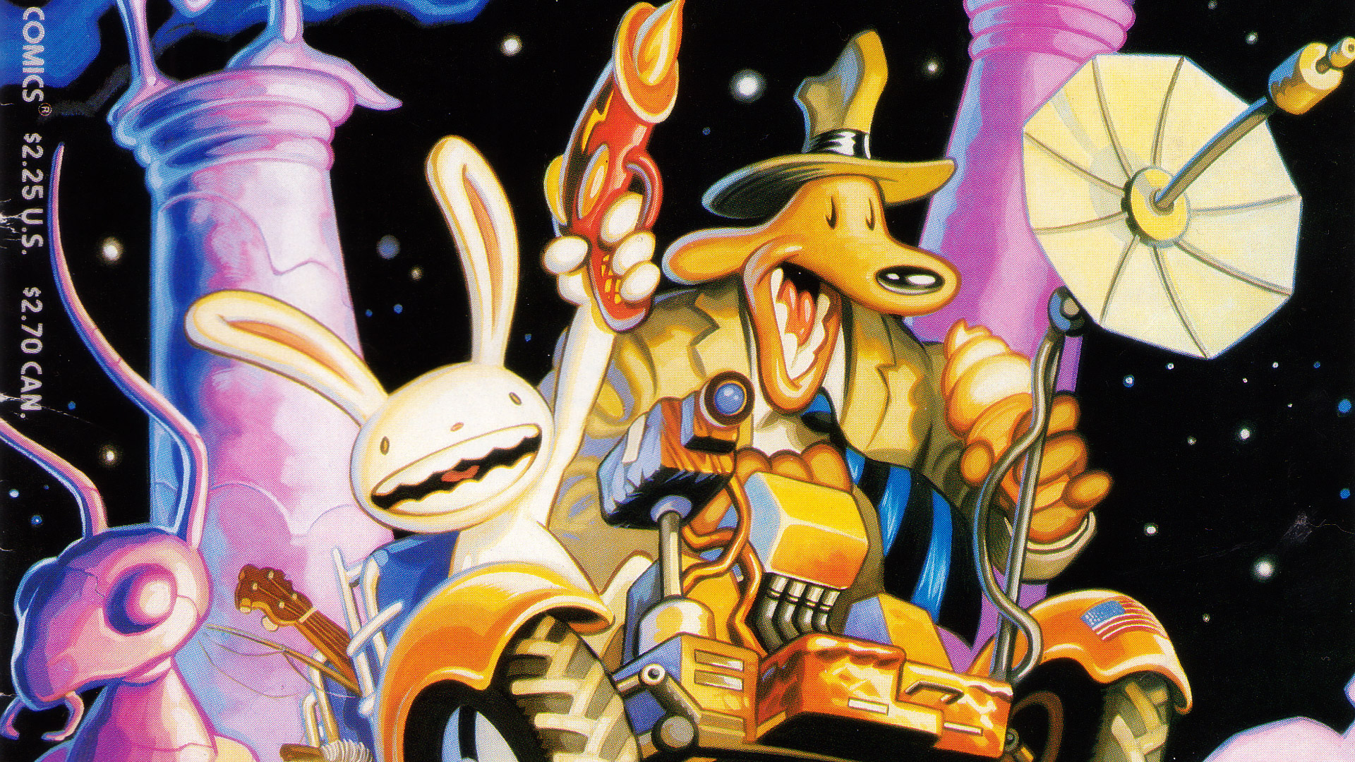 Free Sam and Max Wallpaper in 1920x1080