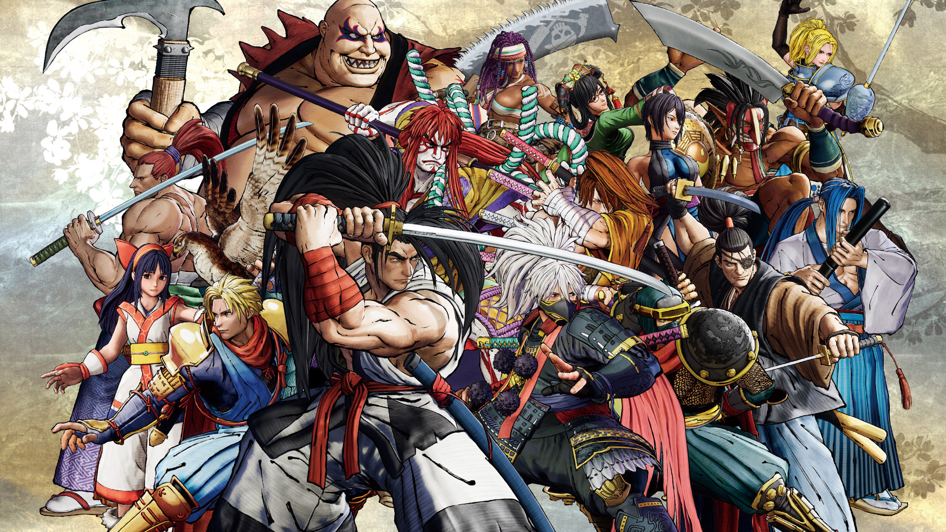 Free Samurai Shodown (2019) Wallpaper in 1920x1080
