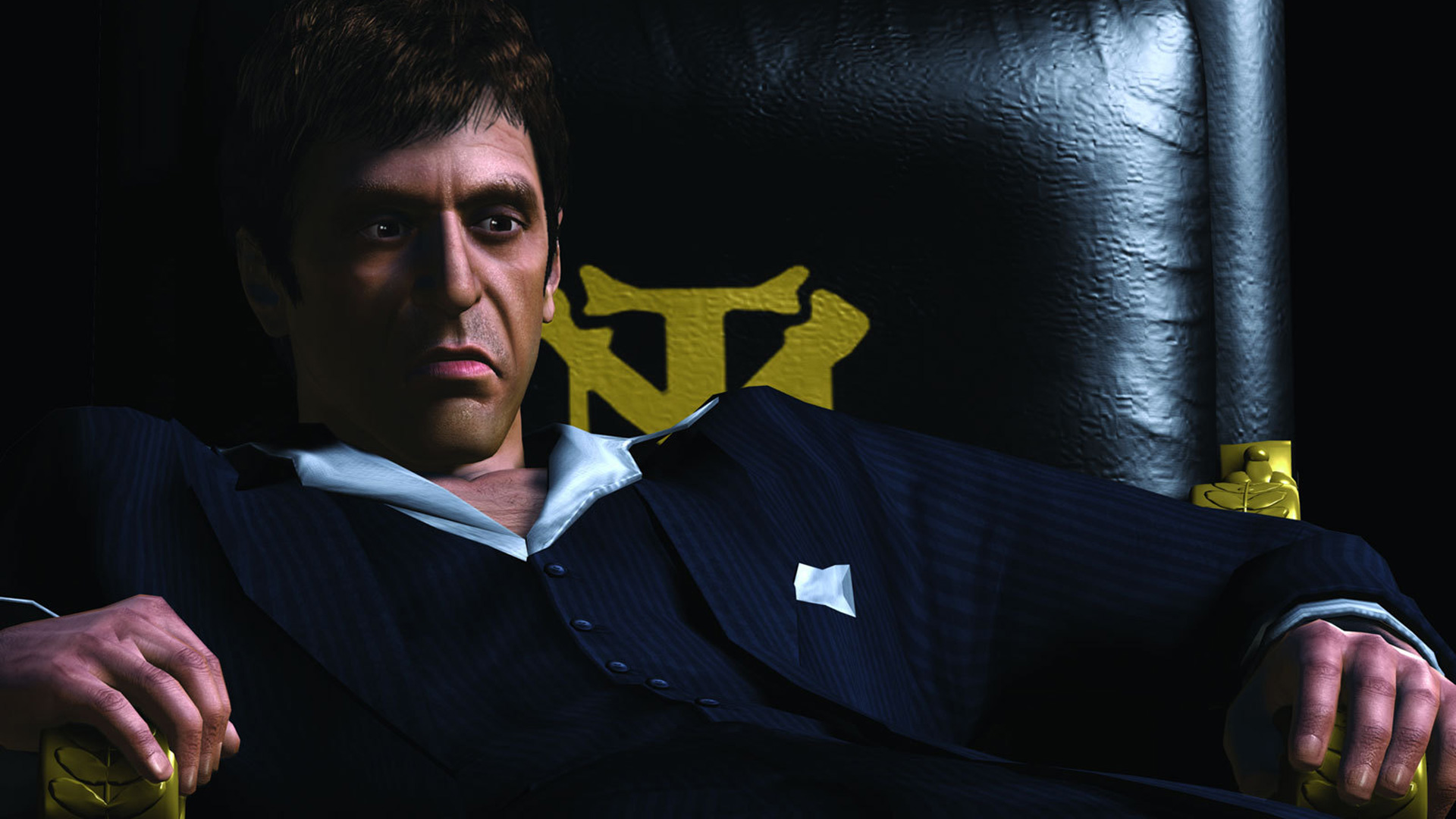 Scarface: The World Is Yours Wallpaper in 1920x1080