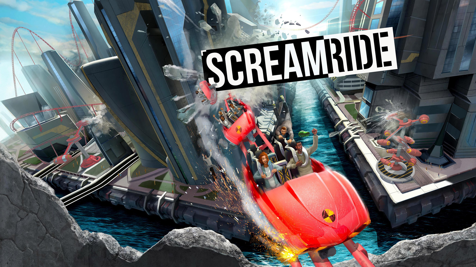 ScreamRide Wallpaper in 1920x1080