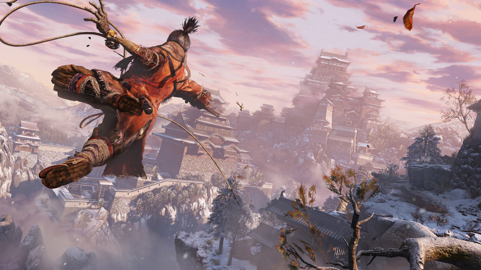Free Sekiro: Shadows Die Twice Wallpaper in 1920x1080