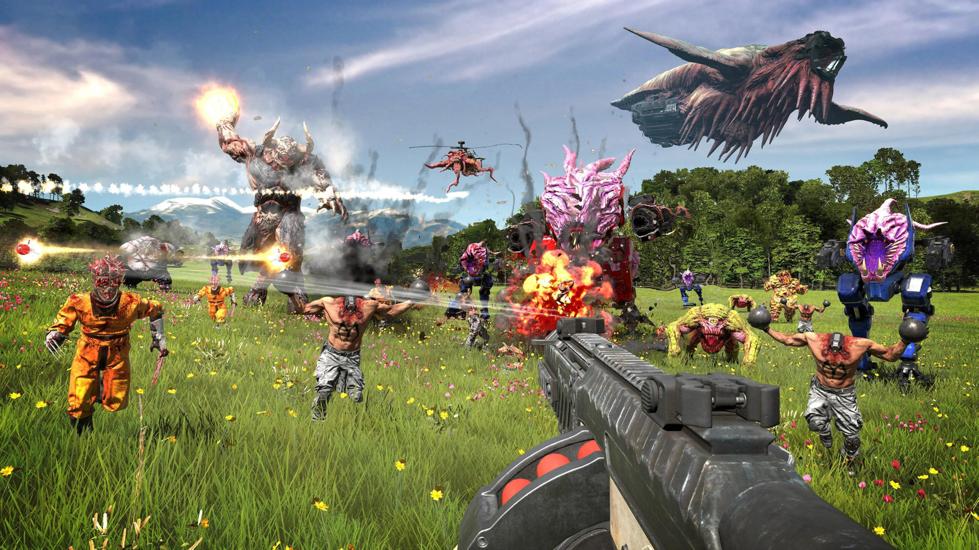 Free Serious Sam 4: Planet Badass Wallpaper in 1920x1080