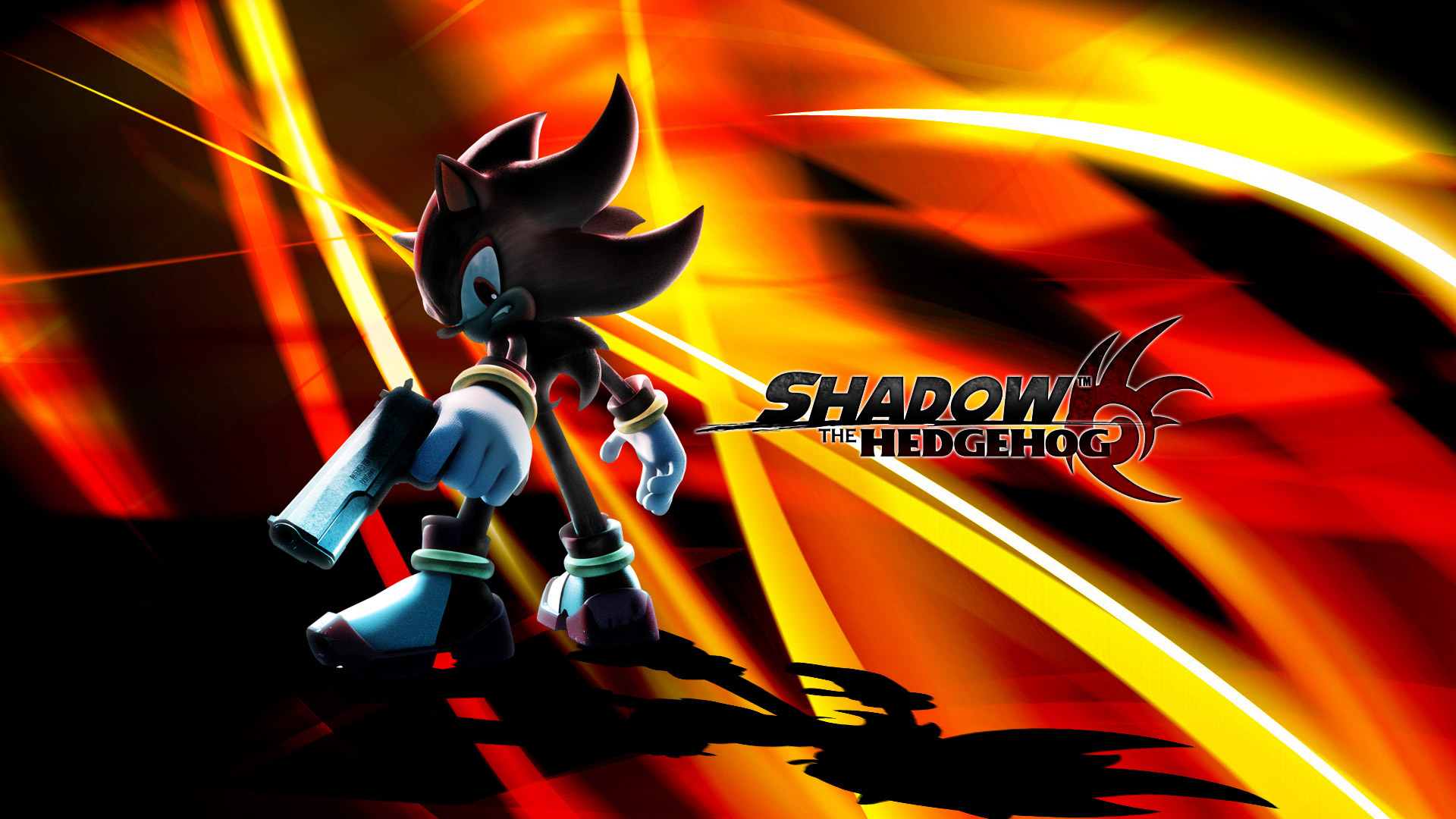 Shadow the Hedgehog Wallpaper in 1920x1080