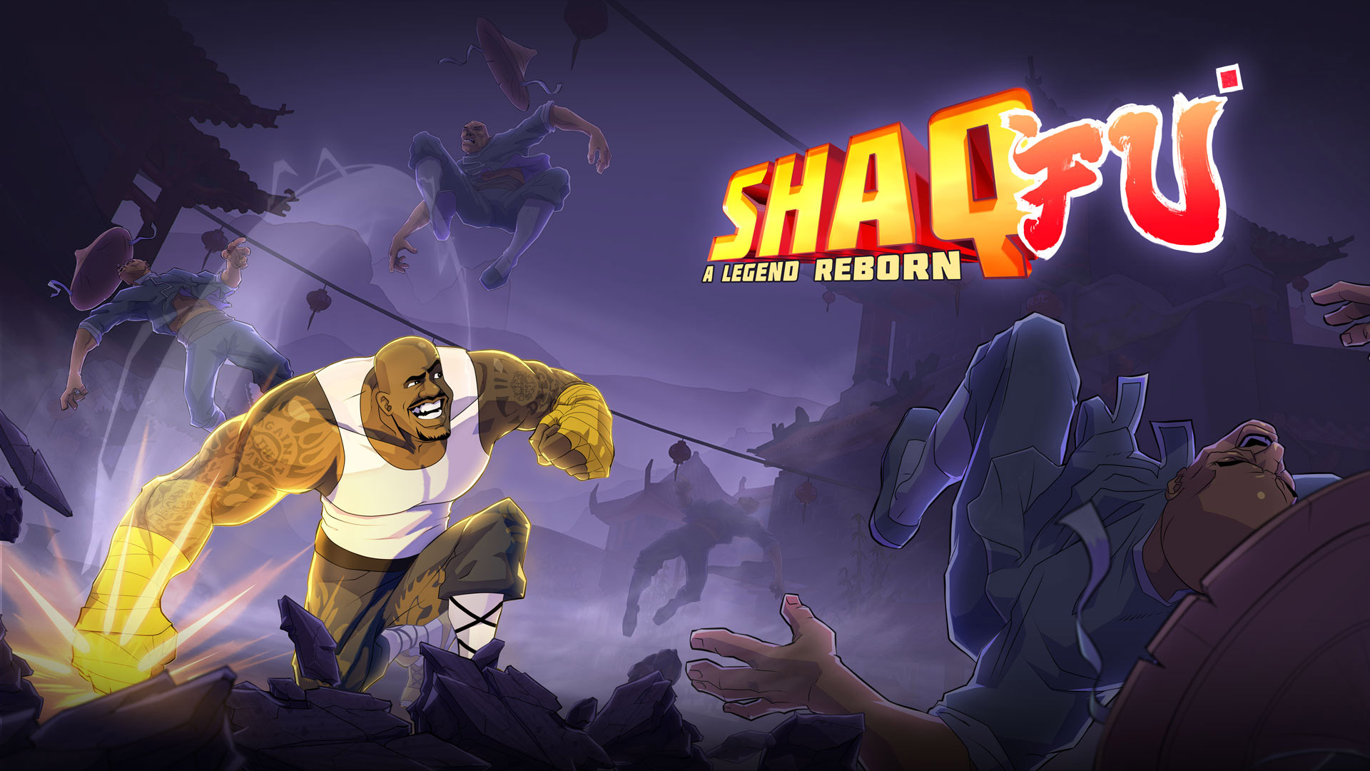 Shaq-Fu: A Legend Reborn Wallpaper in 1920x1080
