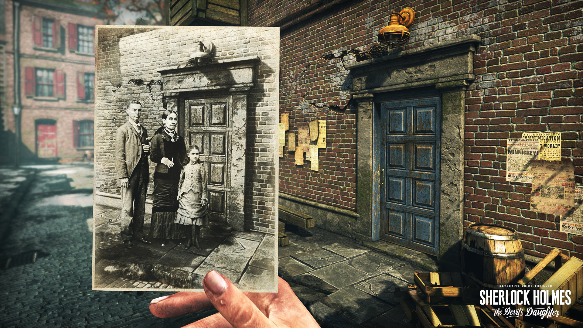 Sherlock Holmes: The Devil's Daughter Wallpaper in 1920x1080