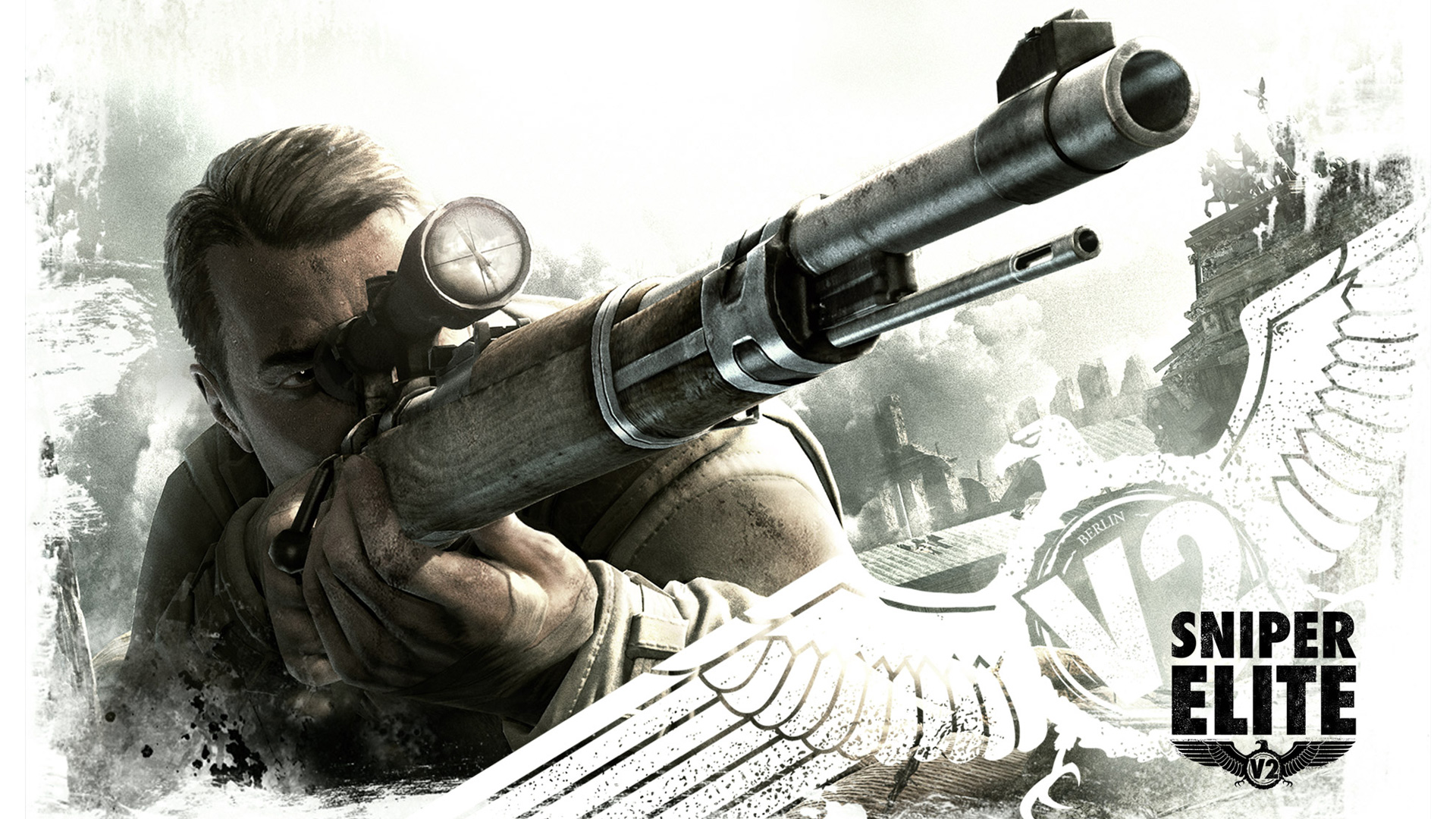 Free Sniper Elite V2 Wallpaper in 1920x1080