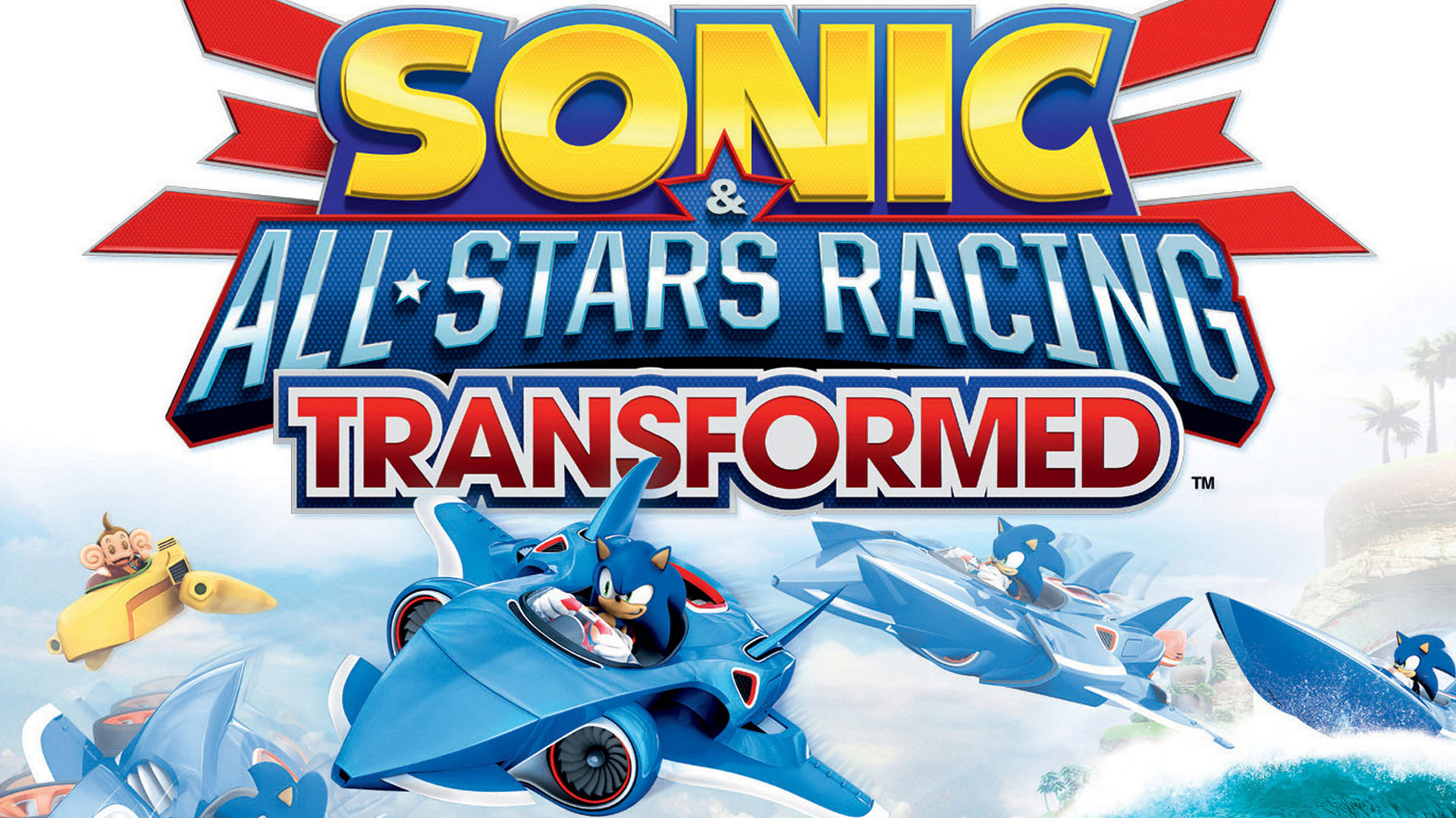 Sonic & All-Stars Racing Transformed Wallpaper in 1920x1080