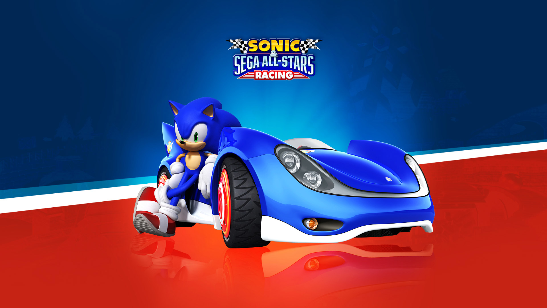 Free Sonic & Sega All-Stars Racing Wallpaper in 1920x1080