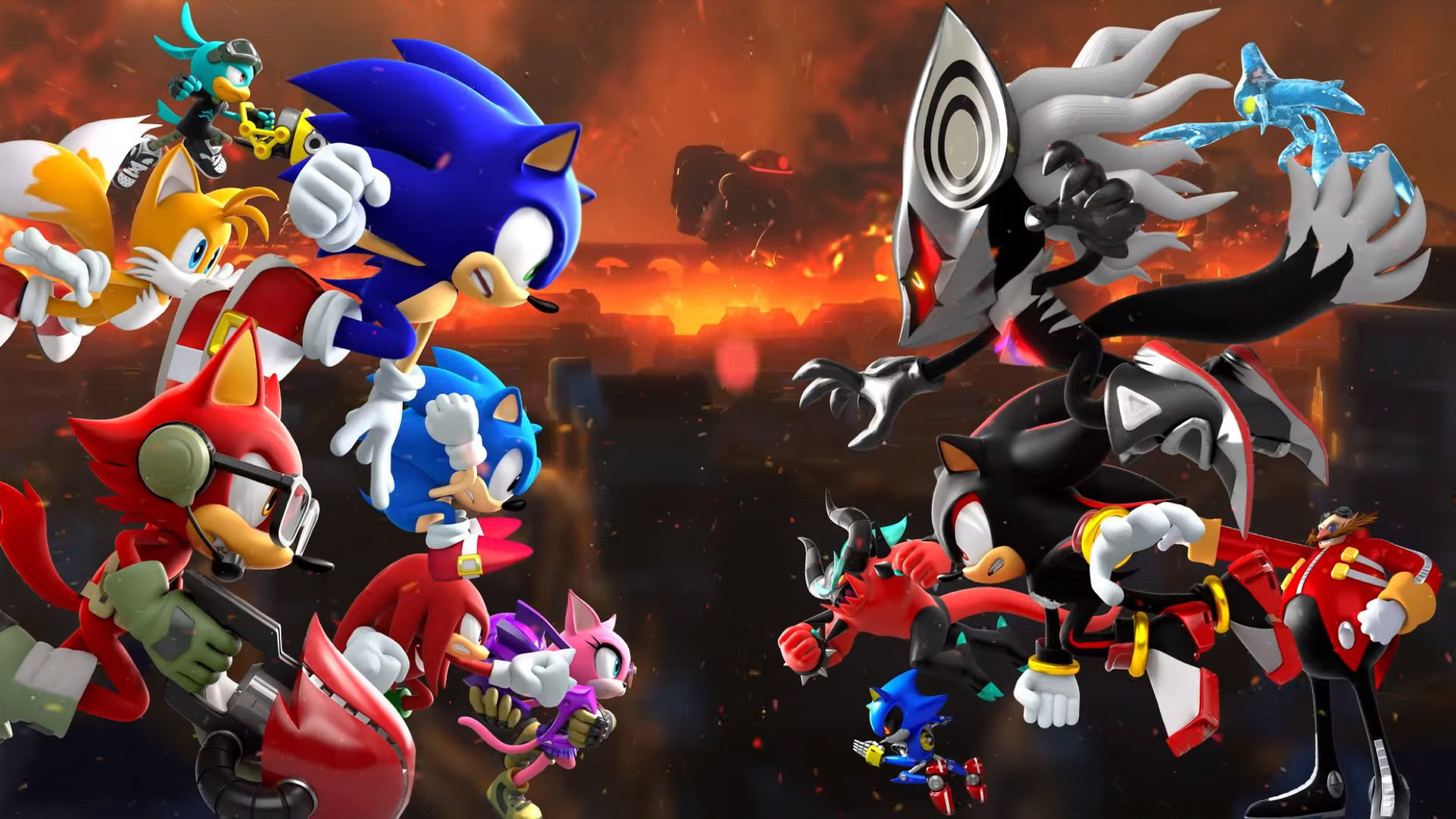 Sonic Forces Wallpaper in 1920x1080