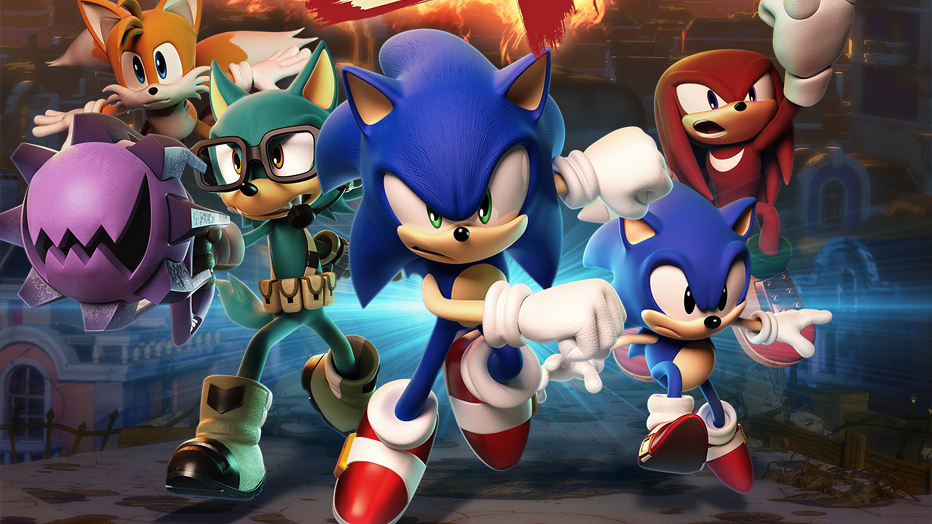 Free Sonic Forces Wallpaper in 1920x1080