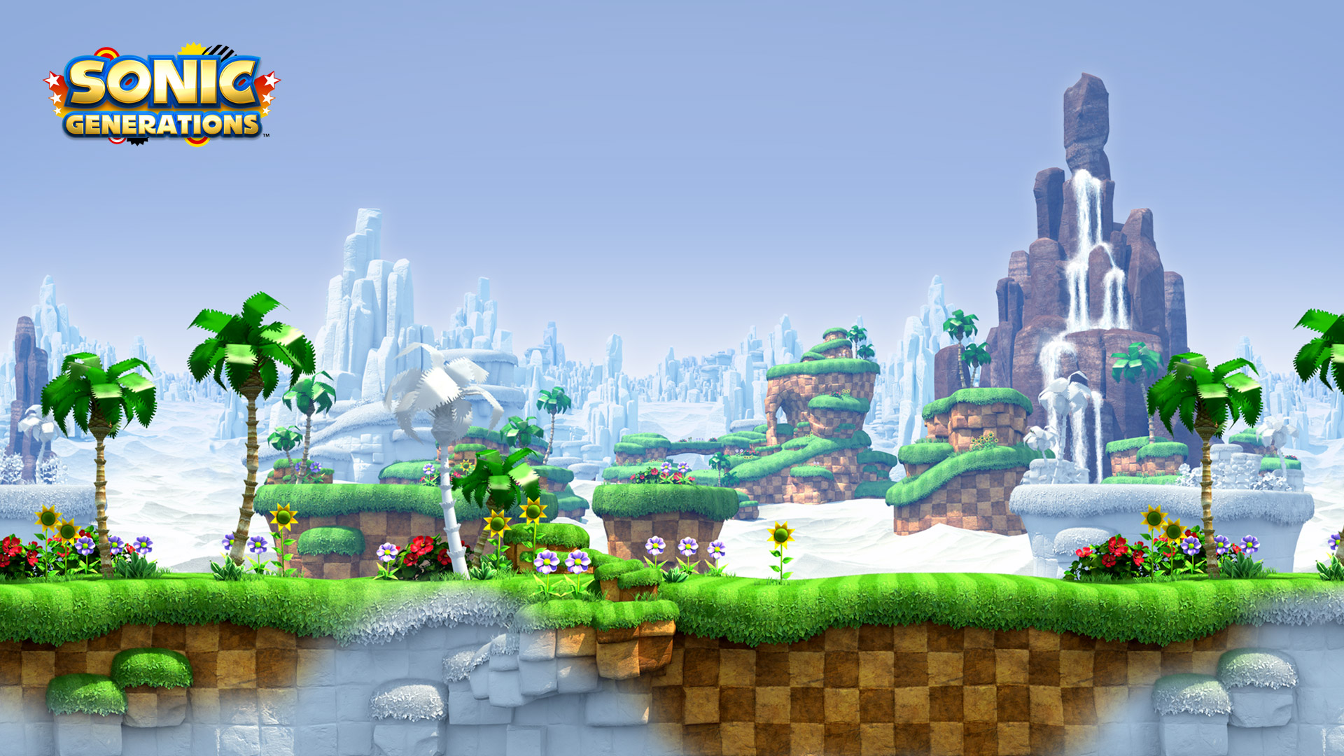 Sonic Generations Wallpaper in 1920x1080