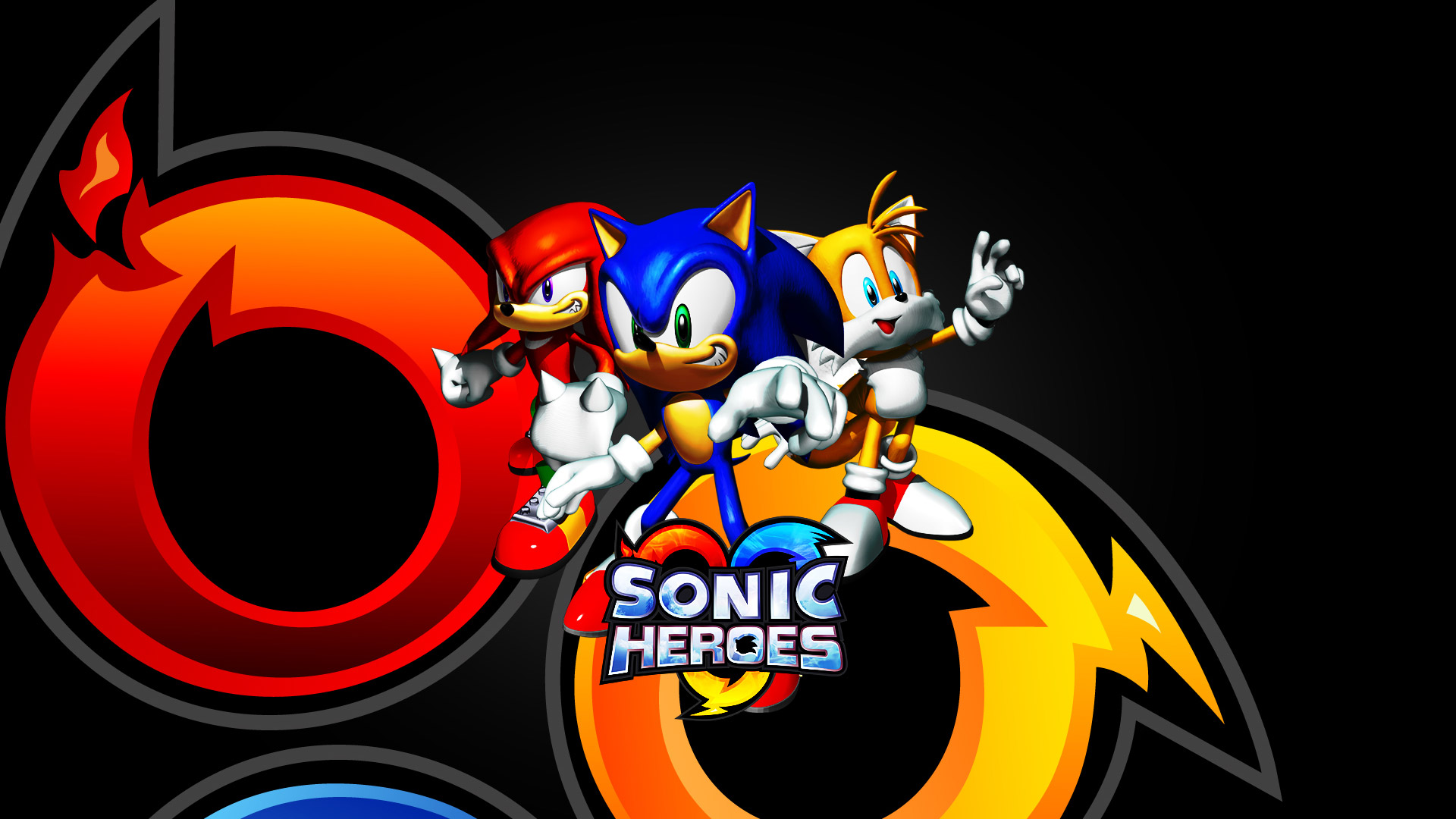Sonic Heroes Wallpaper in 1920x1080
