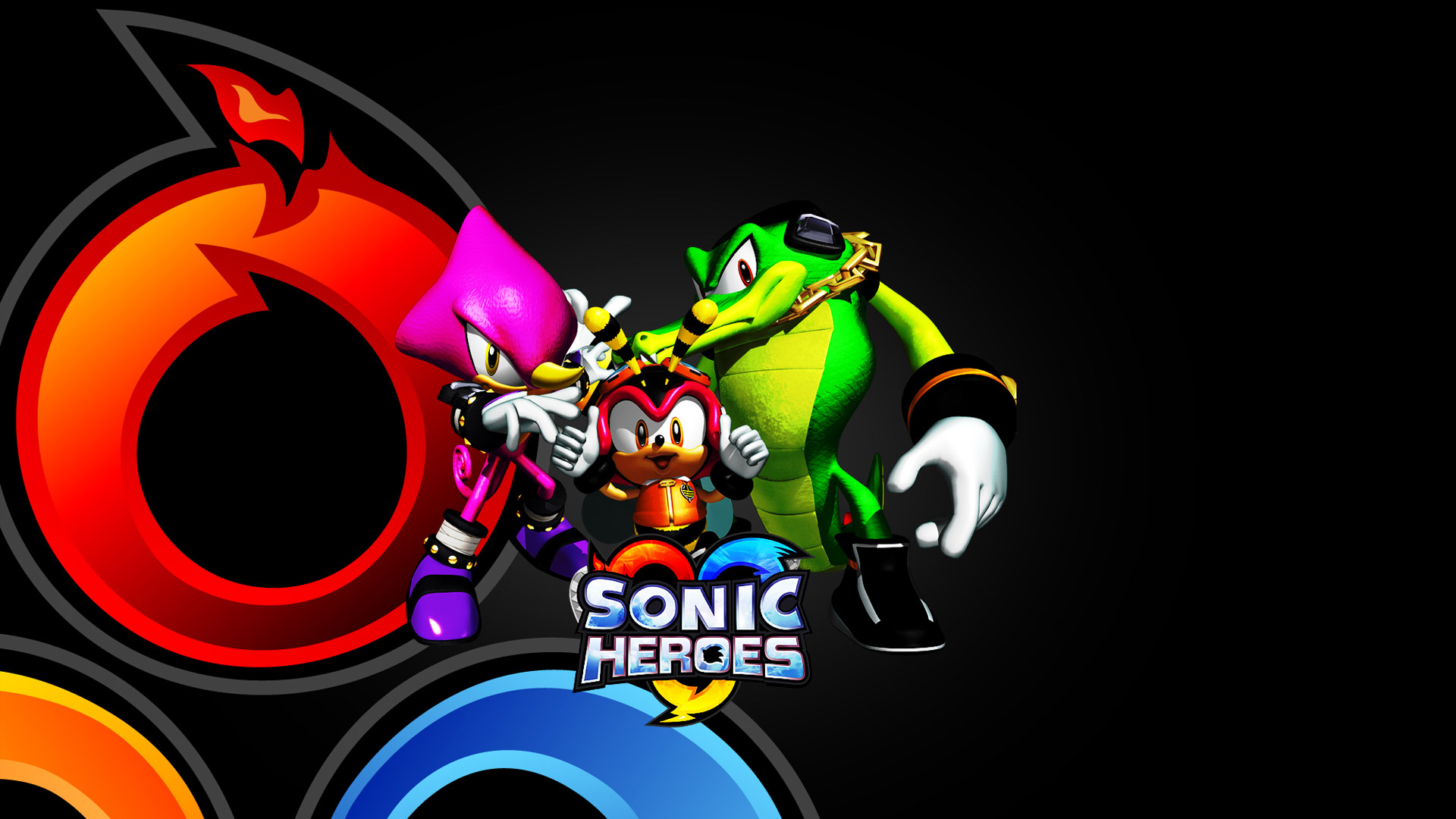 Sonic Heroes Wallpaper in 1920x1080