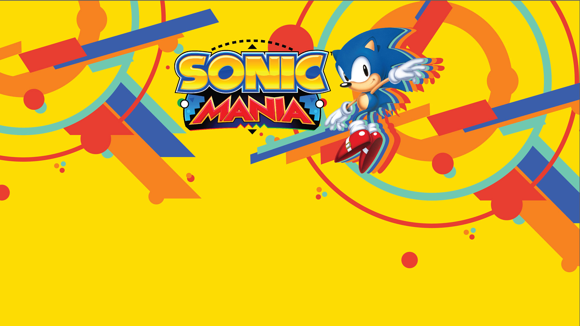 Sonic Mania Wallpaper in 1920x1080
