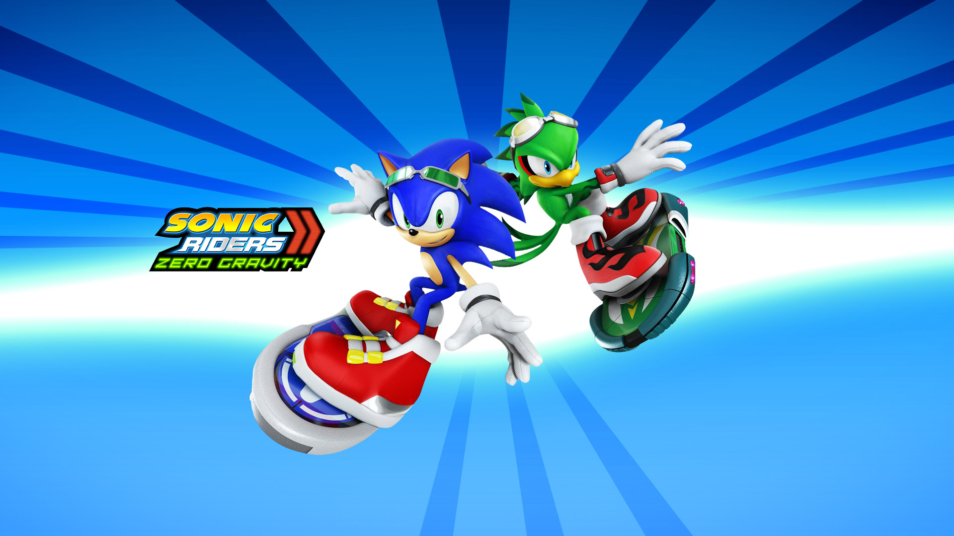 Free Sonic Riders Wallpaper in 1920x1080