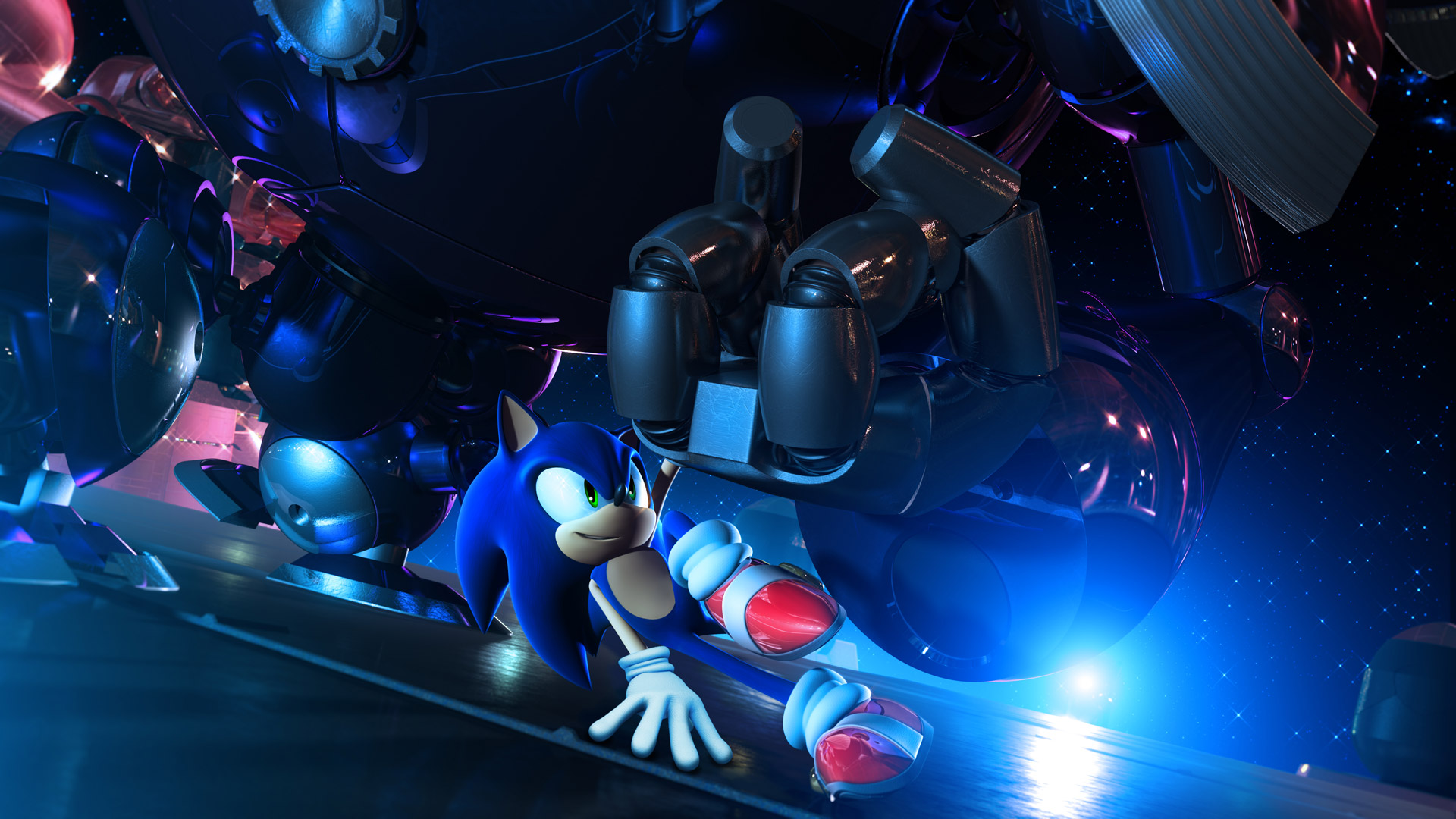 Sonic Unleashed Wallpaper in 1920x1080