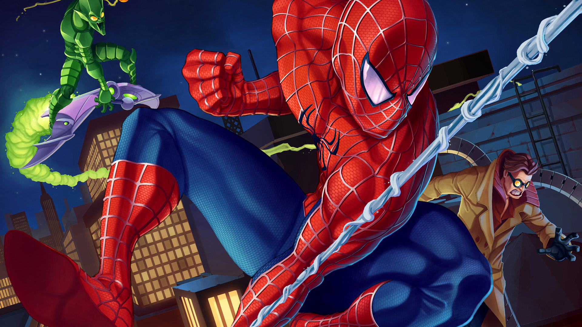 Spider-Man: Friend or Foe Wallpaper in 1920x1080