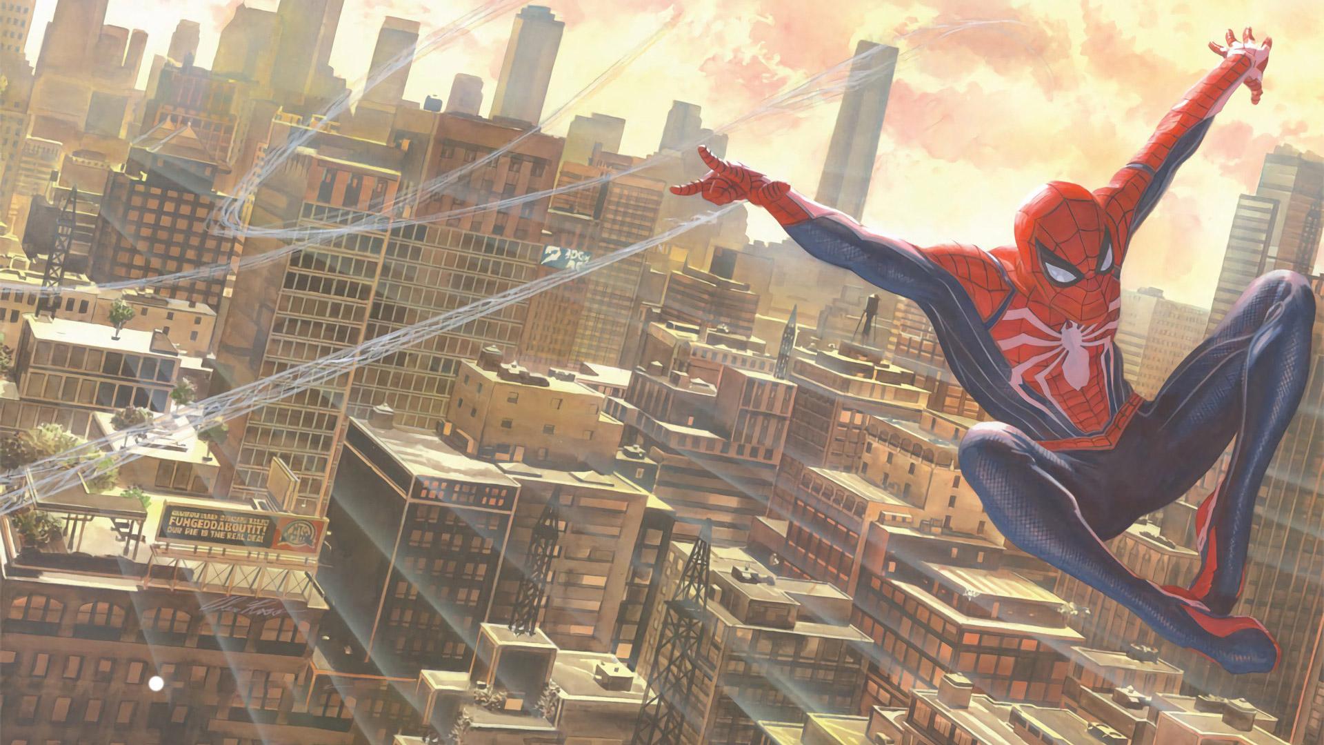 Free Spider-Man Wallpaper in 1920x1080
