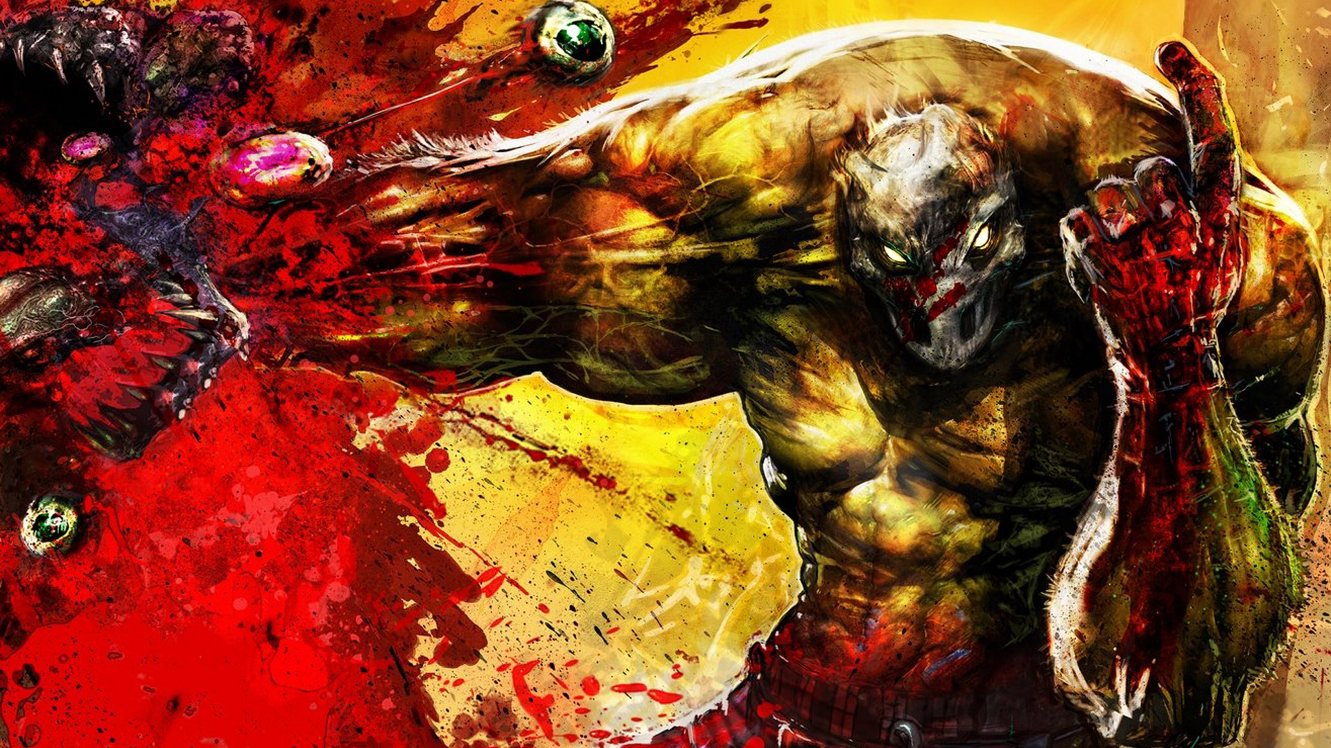 Splatterhouse Wallpaper in 1920x1080