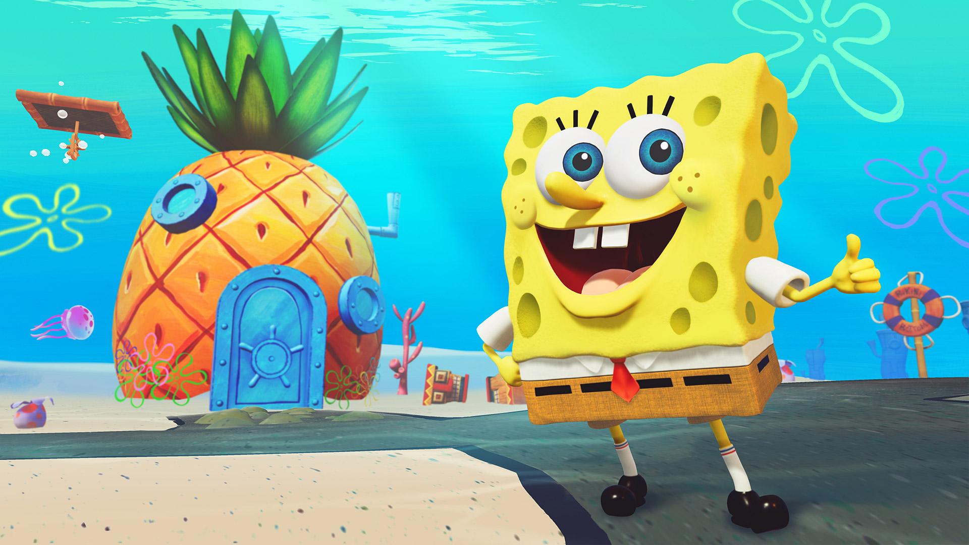 Free SpongeBob SquarePants: Battle for Bikini Bottom Wallpaper in 1920x1080