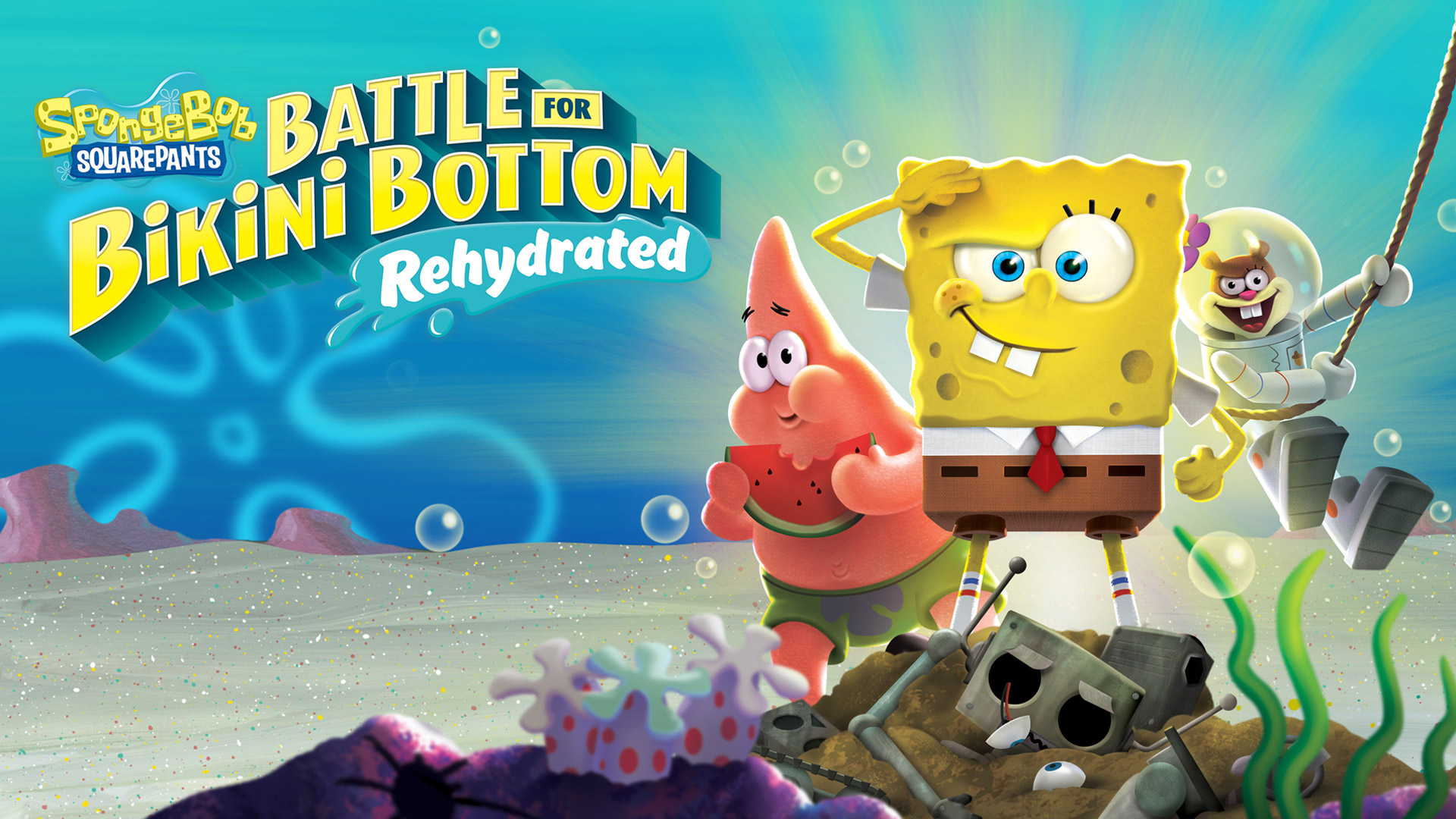 SpongeBob SquarePants: Battle for Bikini Bottom Wallpaper in 1920x1080