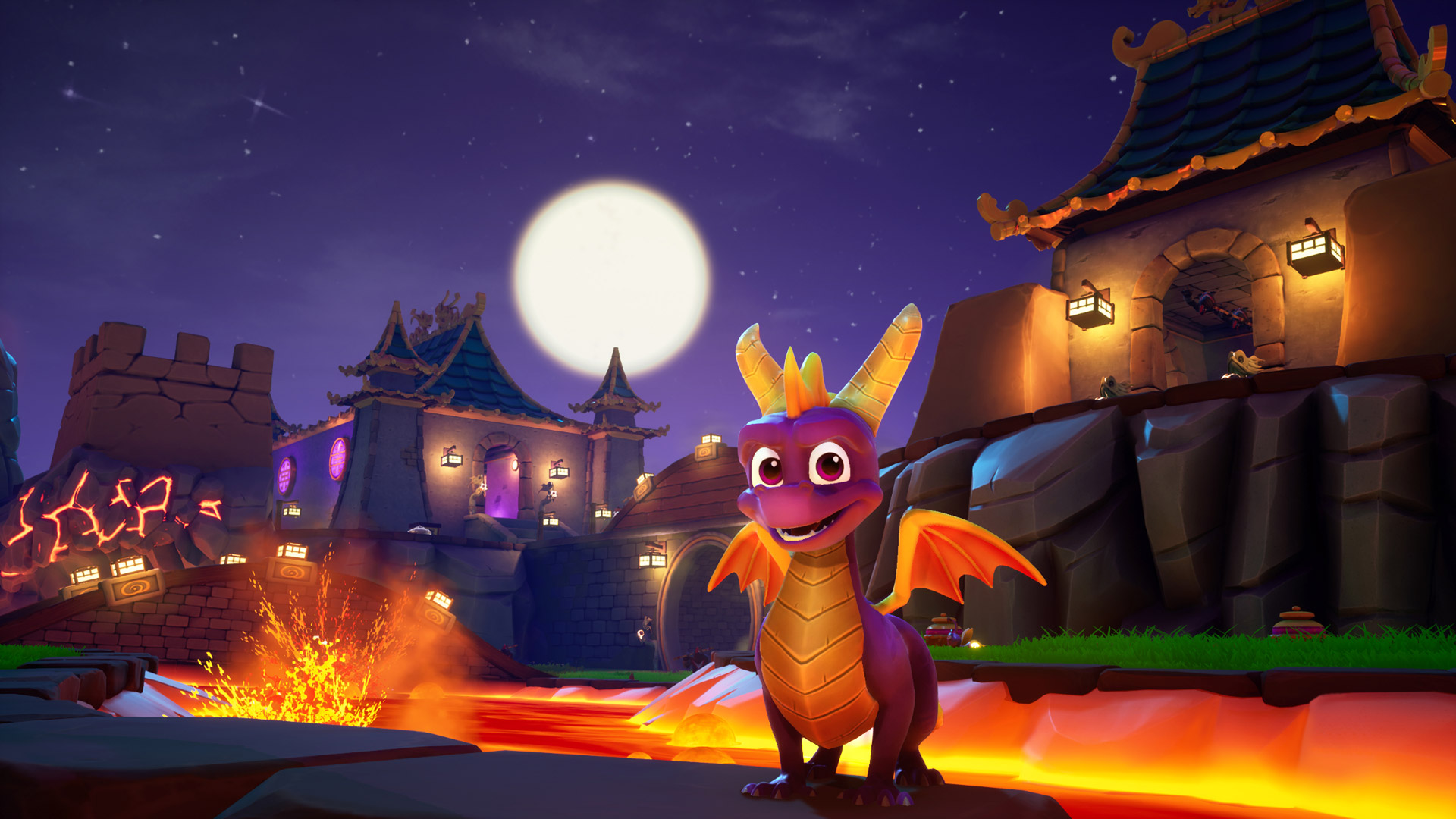 Free Spyro the Dragon Wallpaper in 1920x1080