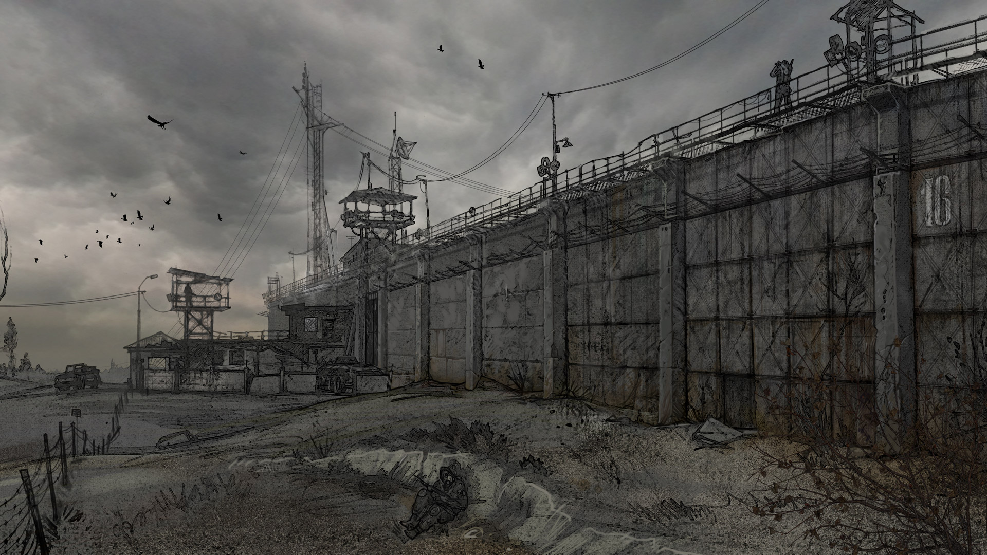 Free S.T.A.L.K.E.R.: Call of Pripyat Wallpaper in 1920x1080