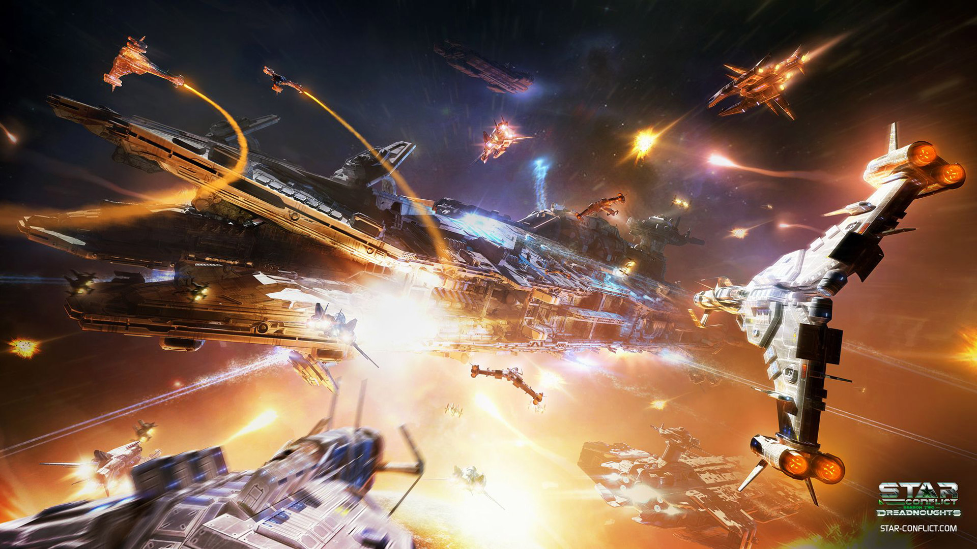 Free Star Conflict Wallpaper in 1920x1080