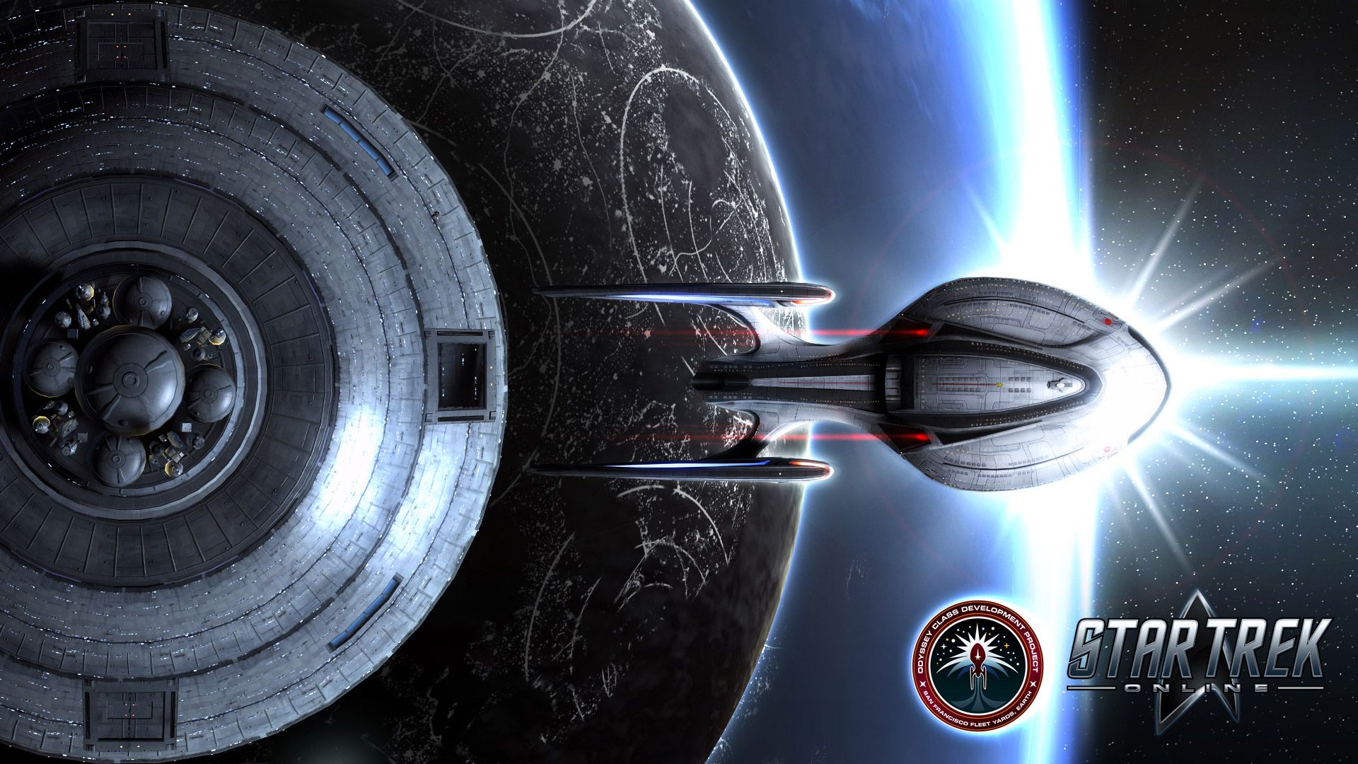 Star Trek Online Wallpaper in 1920x1080