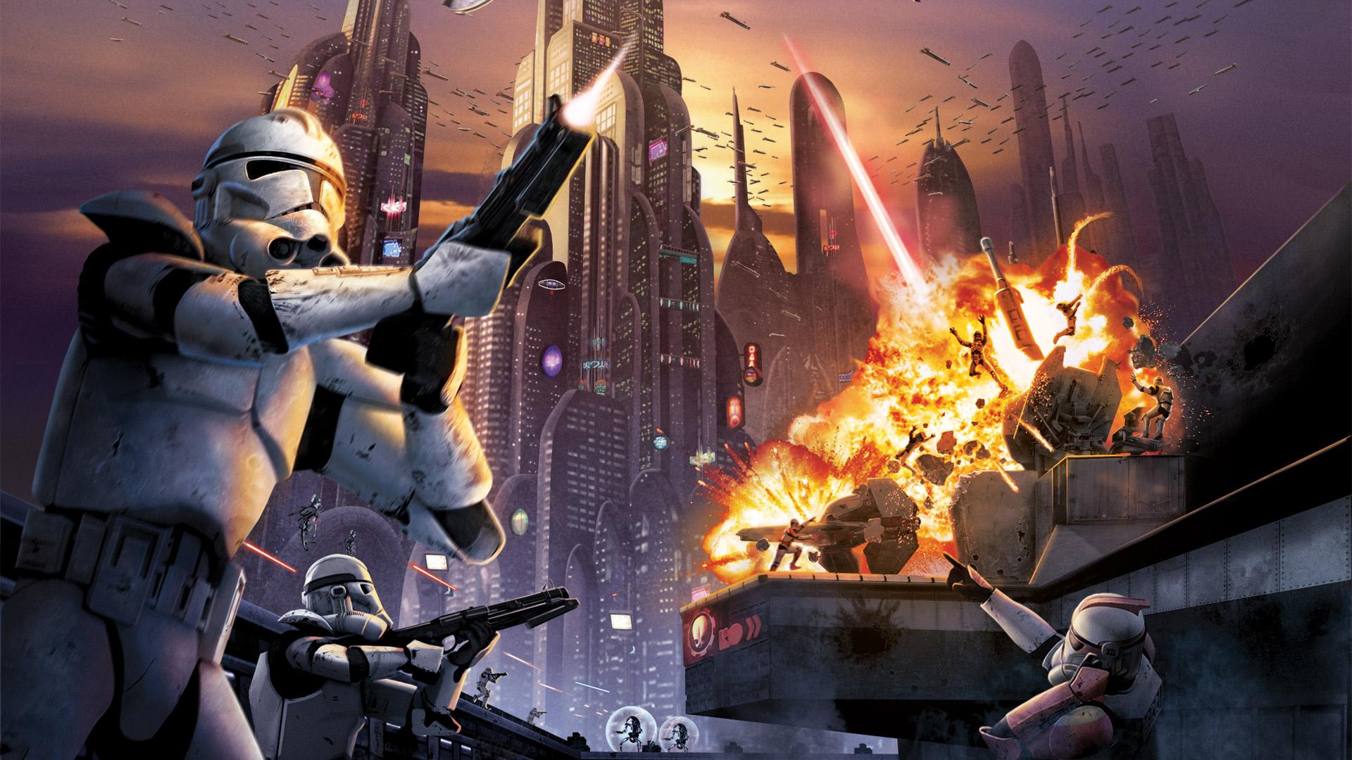 Free Star Wars Battlefront: Elite Squadron Wallpaper in 1920x1080