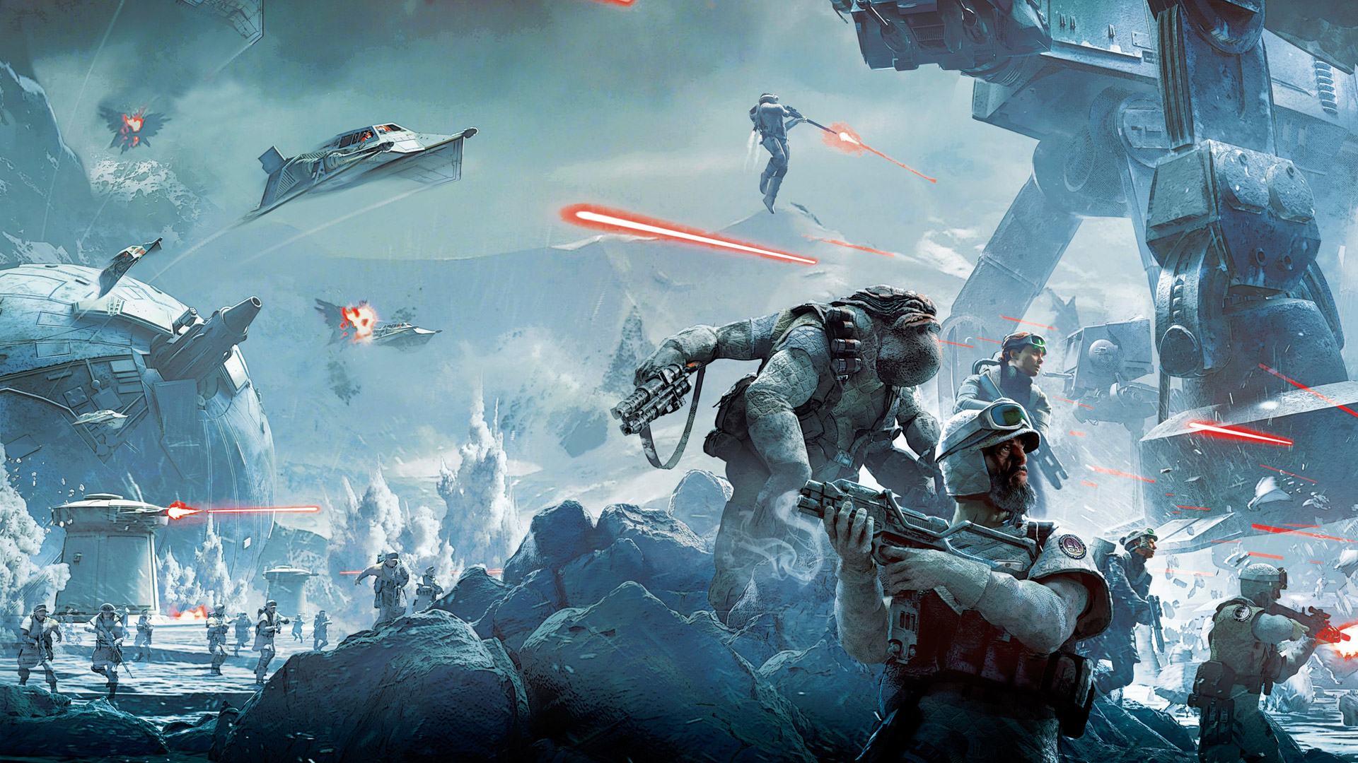 Free Star Wars Battlefront Wallpaper In 1920x1080