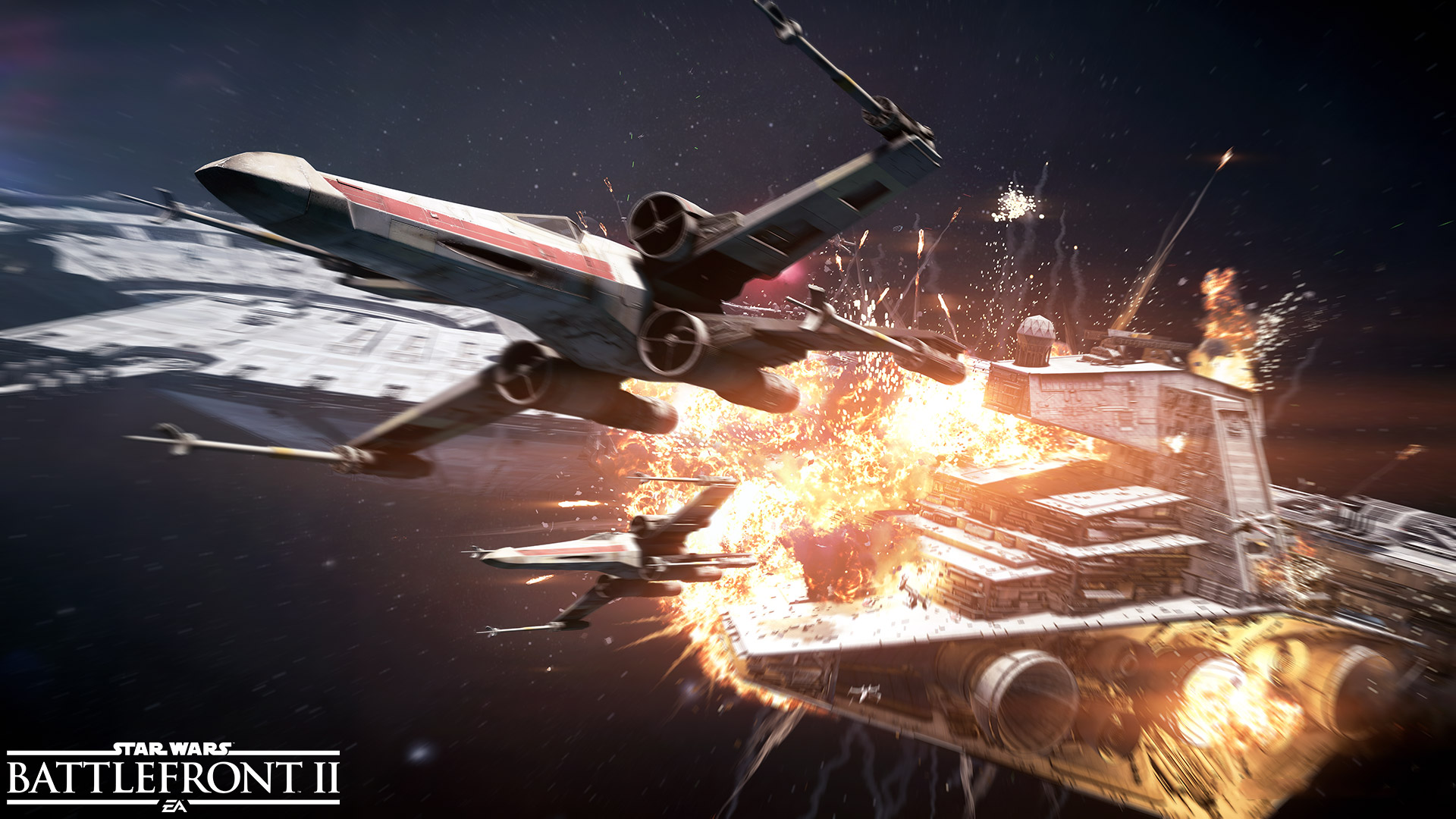 Free Star Wars: Battlefront II Wallpaper in 1920x1080